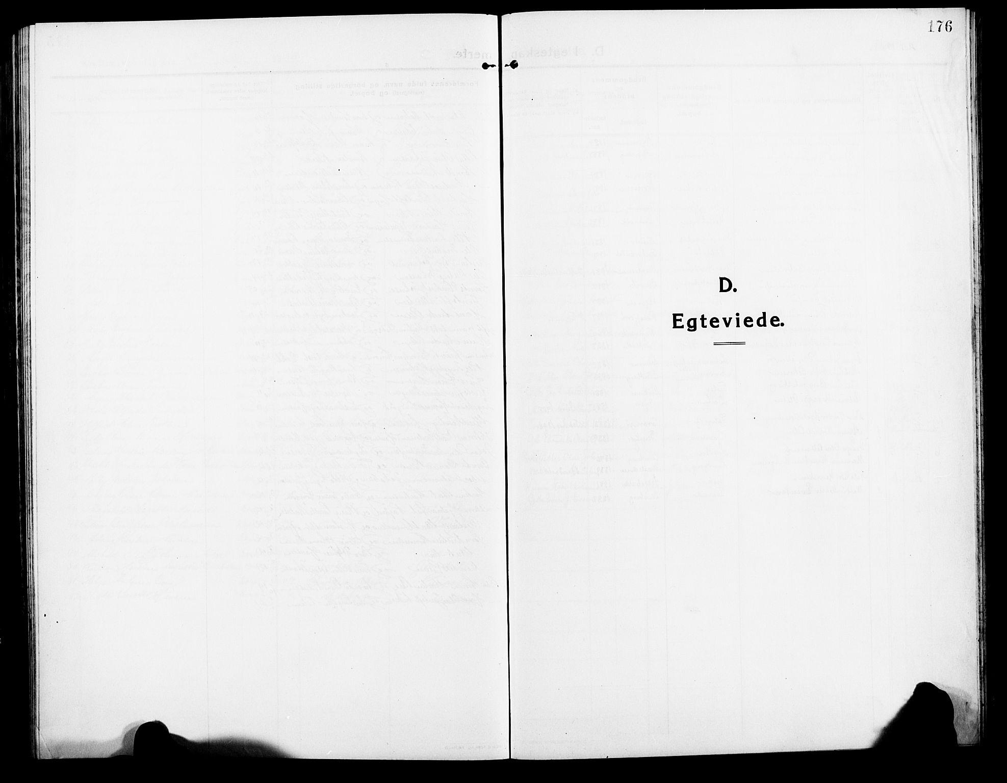 SATØ, Lenvik sokneprestembete, H/Ha: Klokkerbok nr. 9, 1912-1926, s. 176