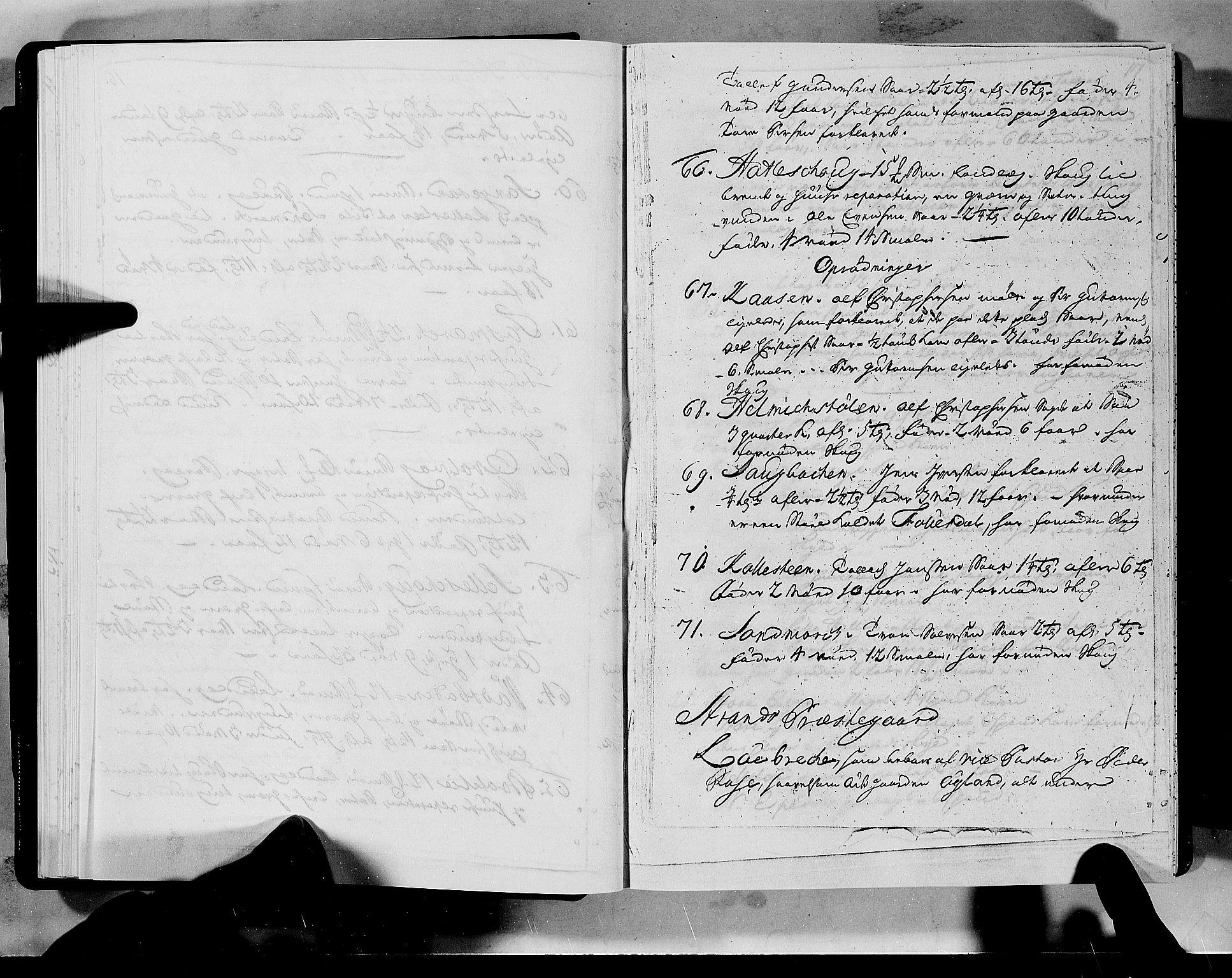 RA, Rentekammeret inntil 1814, Realistisk ordnet avdeling, N/Nb/Nbf/L0133a: Ryfylke eksaminasjonsprotokoll, 1723, s. 16b