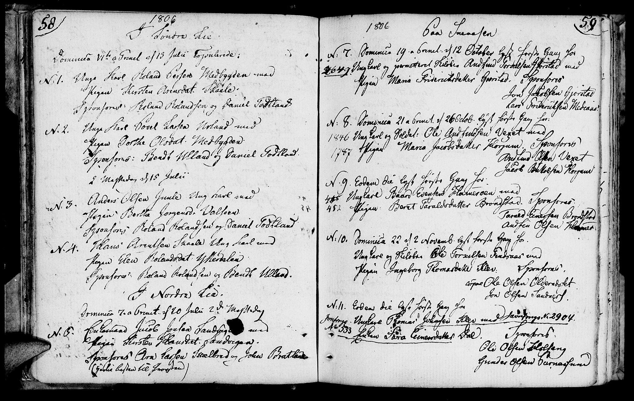 SAT, Ministerialprotokoller, klokkerbøker og fødselsregistre - Nord-Trøndelag, 749/L0468: Ministerialbok nr. 749A02, 1787-1817, s. 58-59