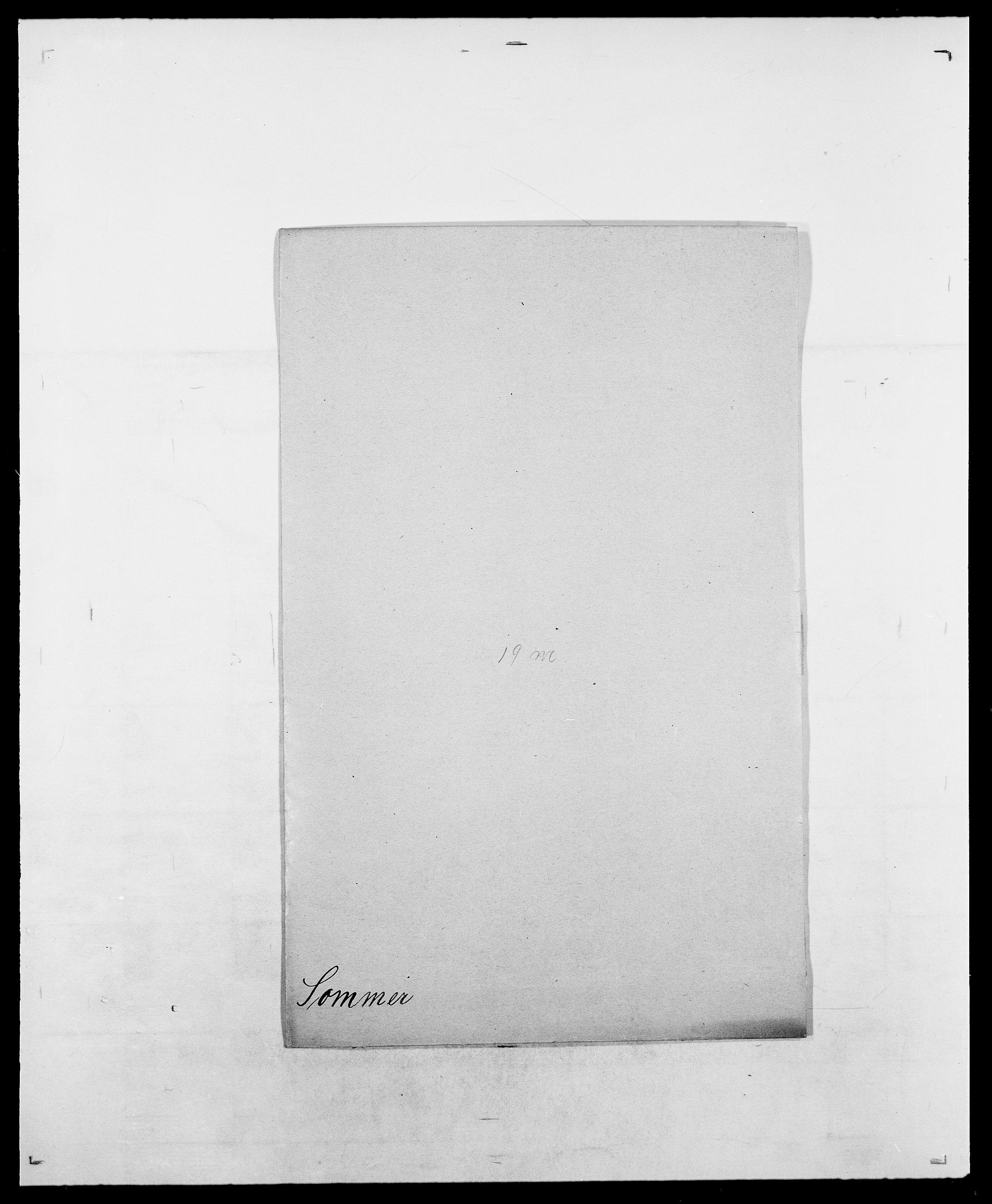 SAO, Delgobe, Charles Antoine - samling, D/Da/L0036: Skaanør - Staverskov, s. 421