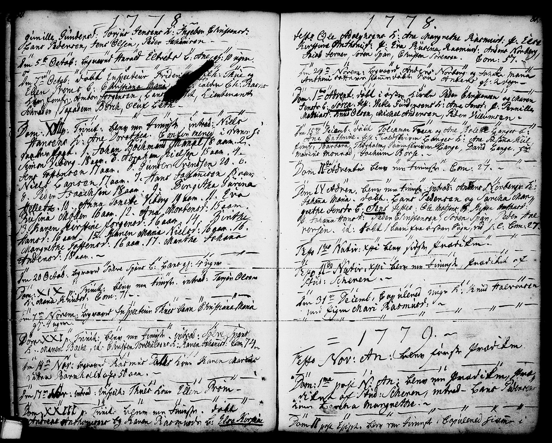 SAKO, Porsgrunn kirkebøker , F/Fa/L0001: Ministerialbok nr. 1, 1764-1814, s. 80-81