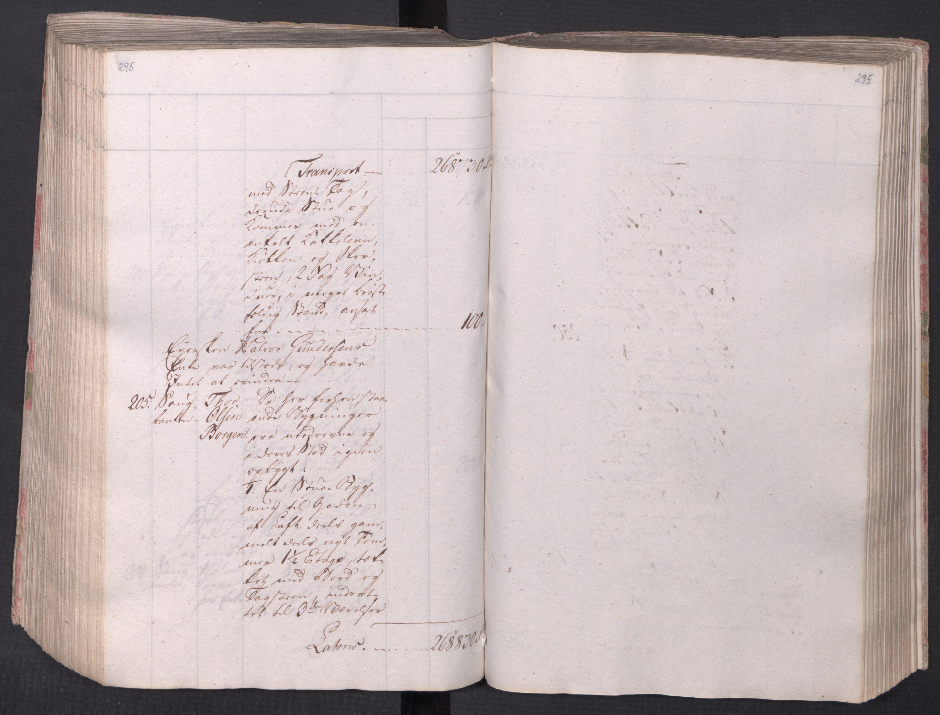 SAO, Kristiania stiftamt, I/Ia/L0015: Branntakster, 1797, s. 295