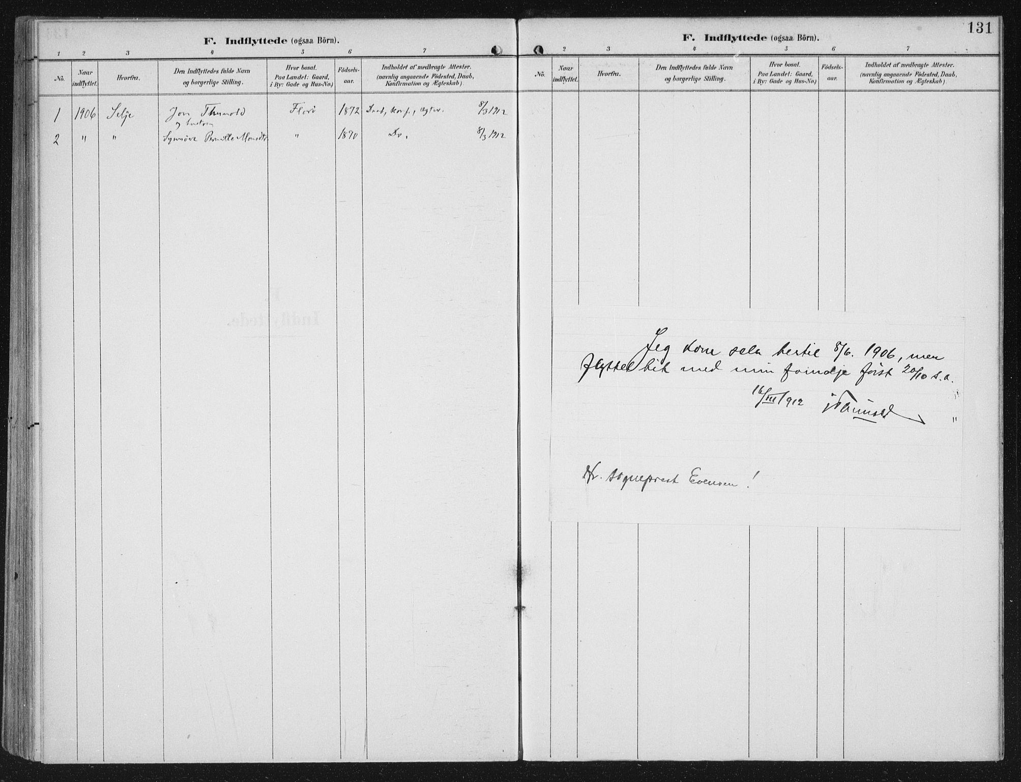 SAB, Kinn sokneprestembete, H/Haa/Haac/L0002: Ministerialbok nr. C  2, 1895-1916, s. 131
