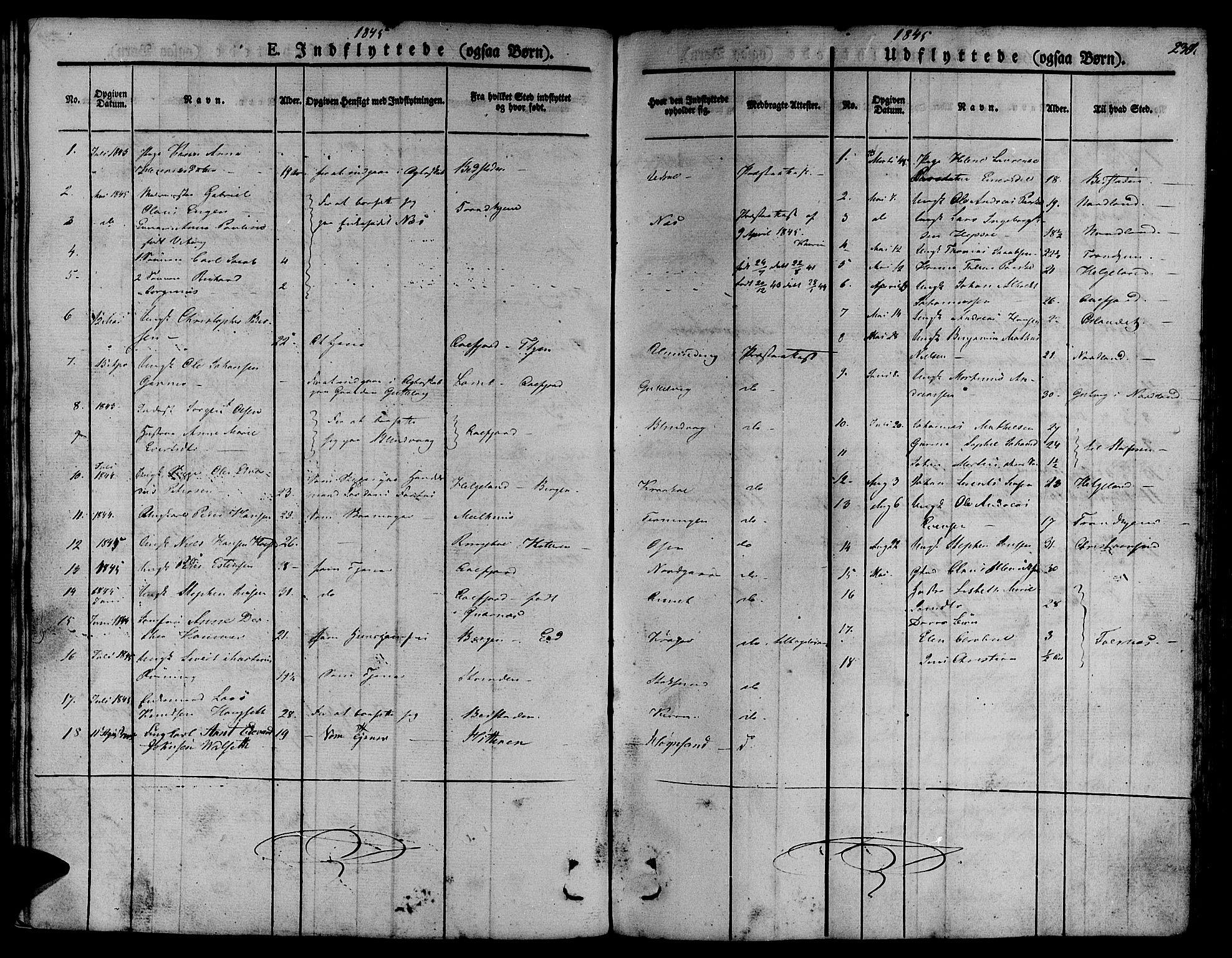 SAT, Ministerialprotokoller, klokkerbøker og fødselsregistre - Sør-Trøndelag, 657/L0703: Ministerialbok nr. 657A04, 1831-1846, s. 230