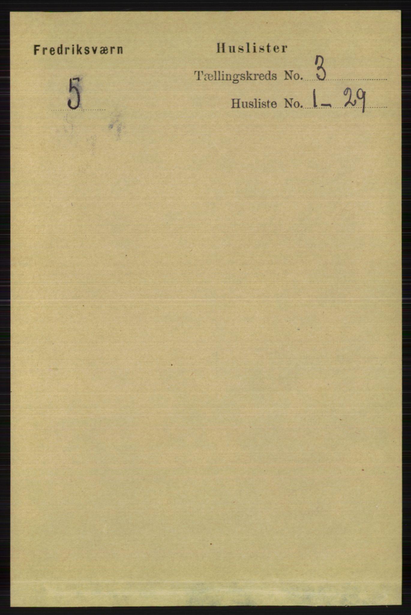 RA, Folketelling 1891 for 0798 Fredriksvern herred, 1891, s. 424