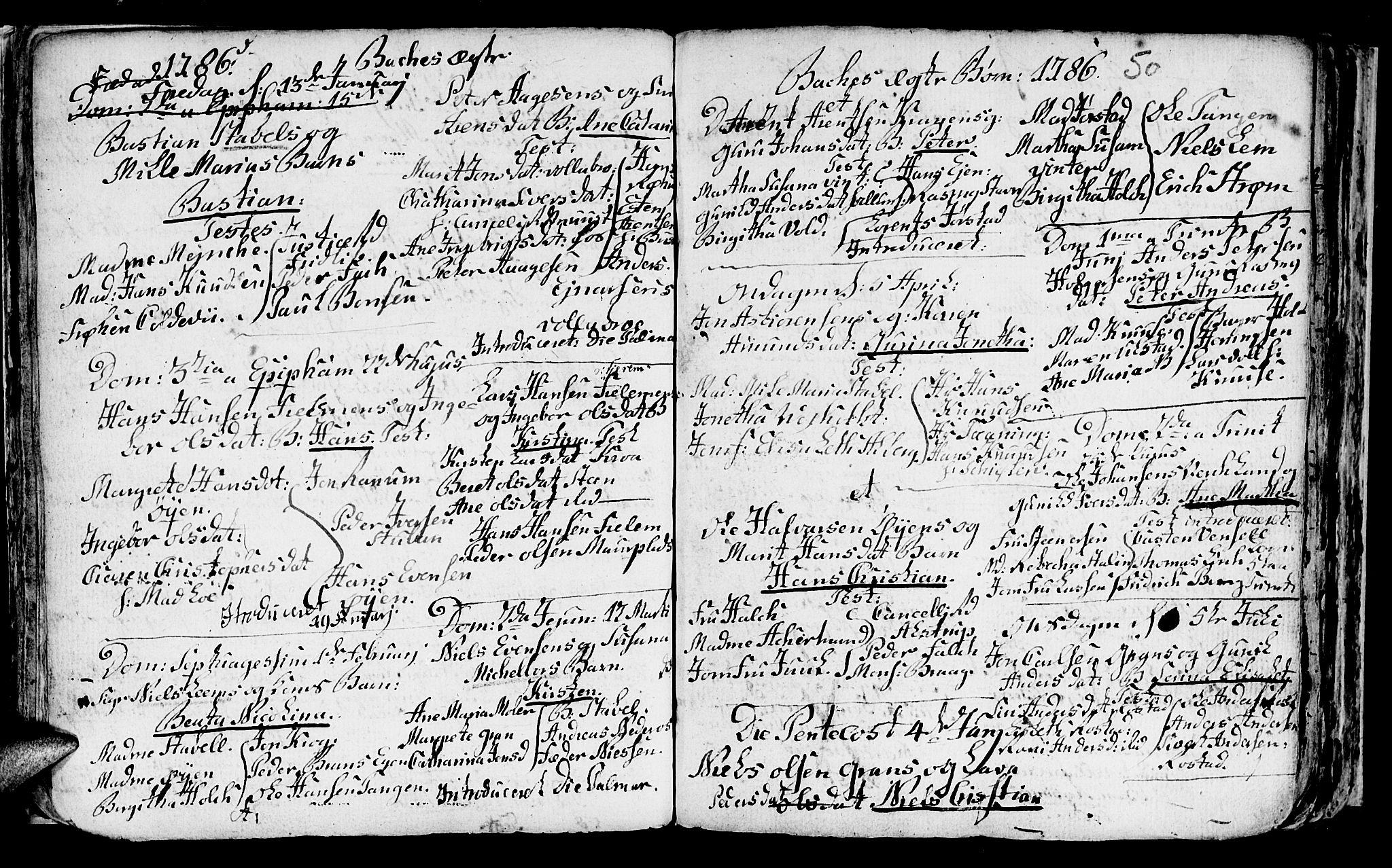 SAT, Ministerialprotokoller, klokkerbøker og fødselsregistre - Sør-Trøndelag, 604/L0218: Klokkerbok nr. 604C01, 1754-1819, s. 50