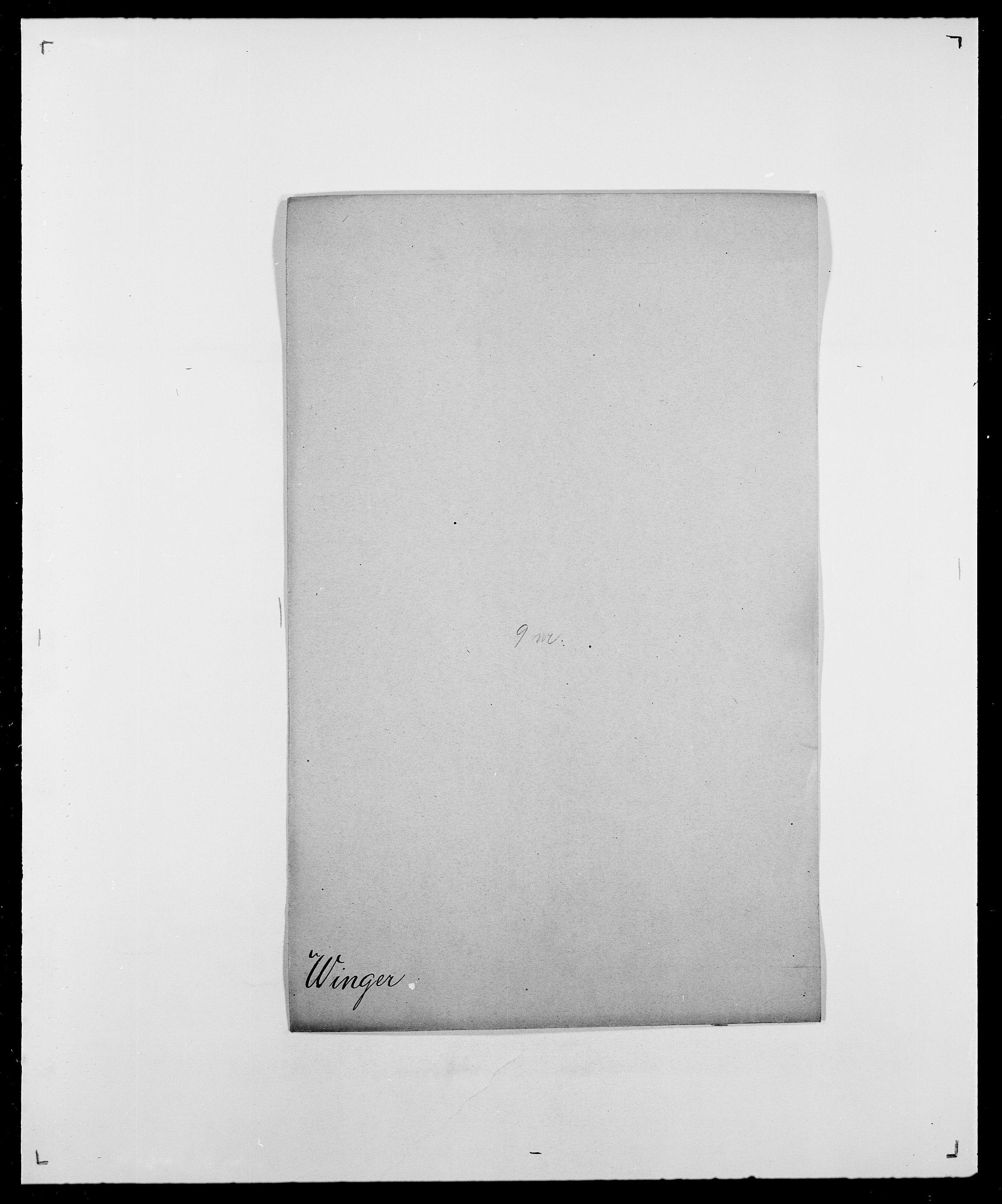 SAO, Delgobe, Charles Antoine - samling, D/Da/L0042: Vilain - Wulf, Wulff, se også Wolf, s. 241