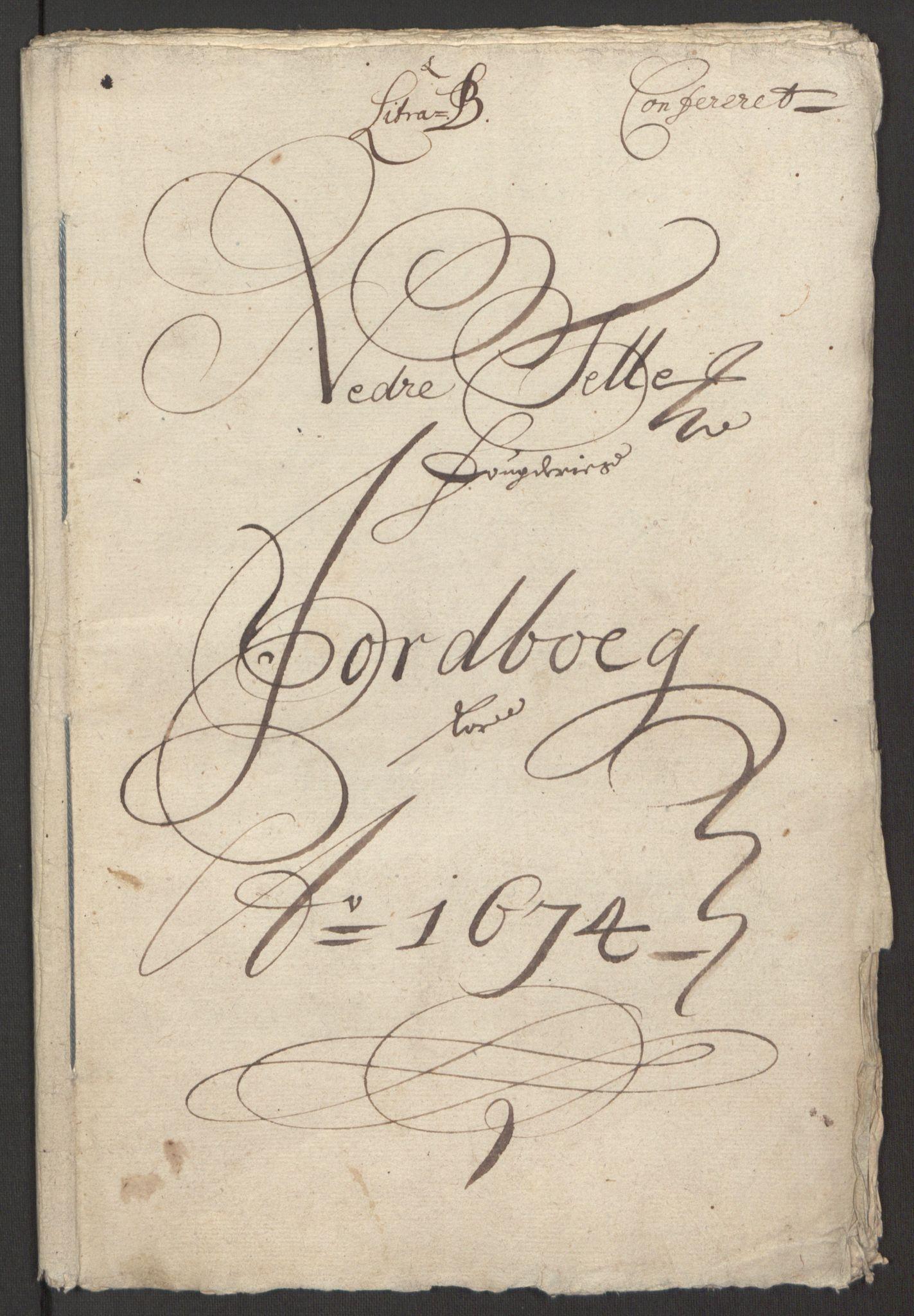 RA, Rentekammeret inntil 1814, Reviderte regnskaper, Fogderegnskap, R35/L2061: Fogderegnskap Øvre og Nedre Telemark, 1673-1674, s. 41