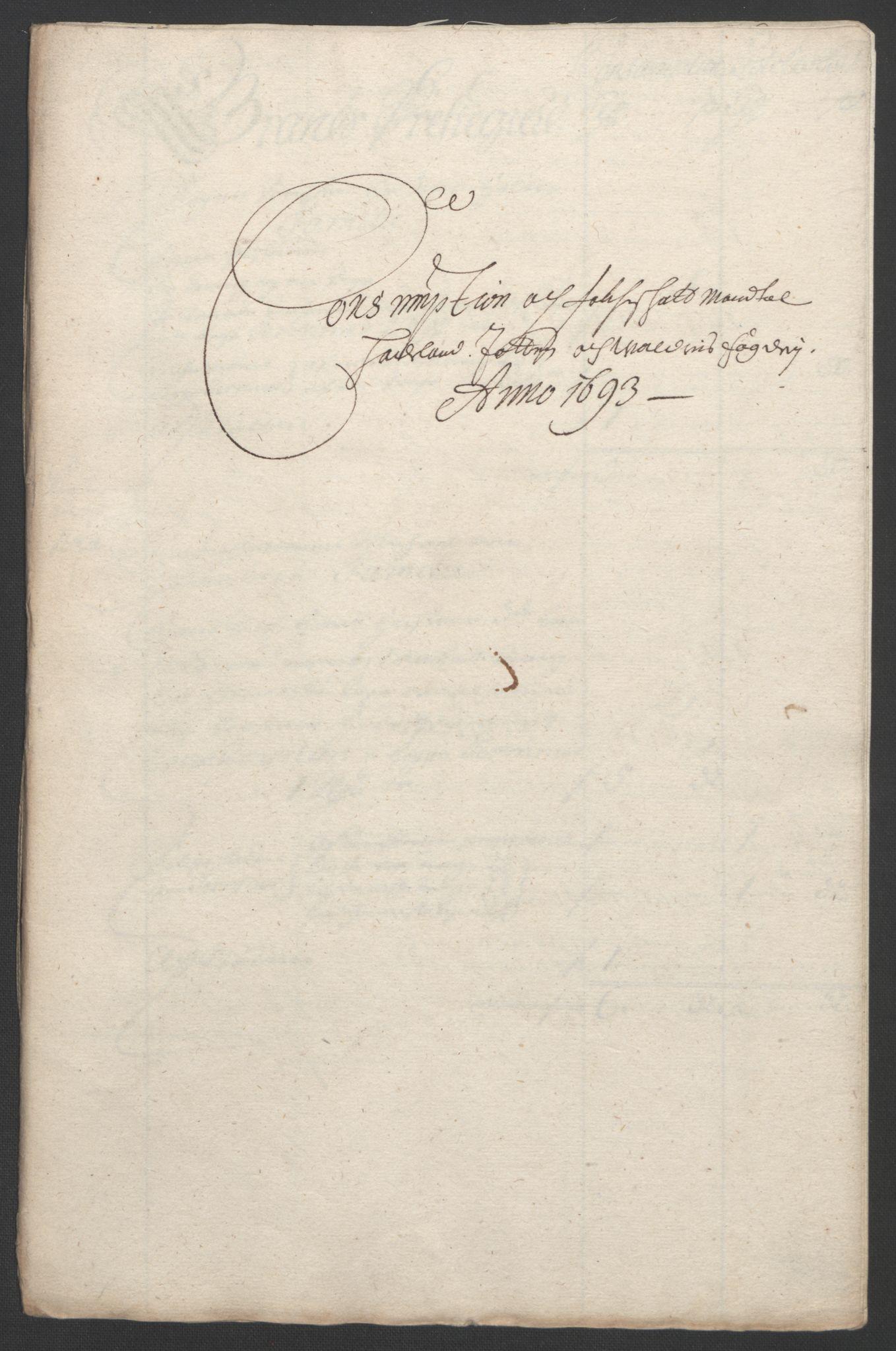 RA, Rentekammeret inntil 1814, Reviderte regnskaper, Fogderegnskap, R18/L1292: Fogderegnskap Hadeland, Toten og Valdres, 1693-1694, s. 128