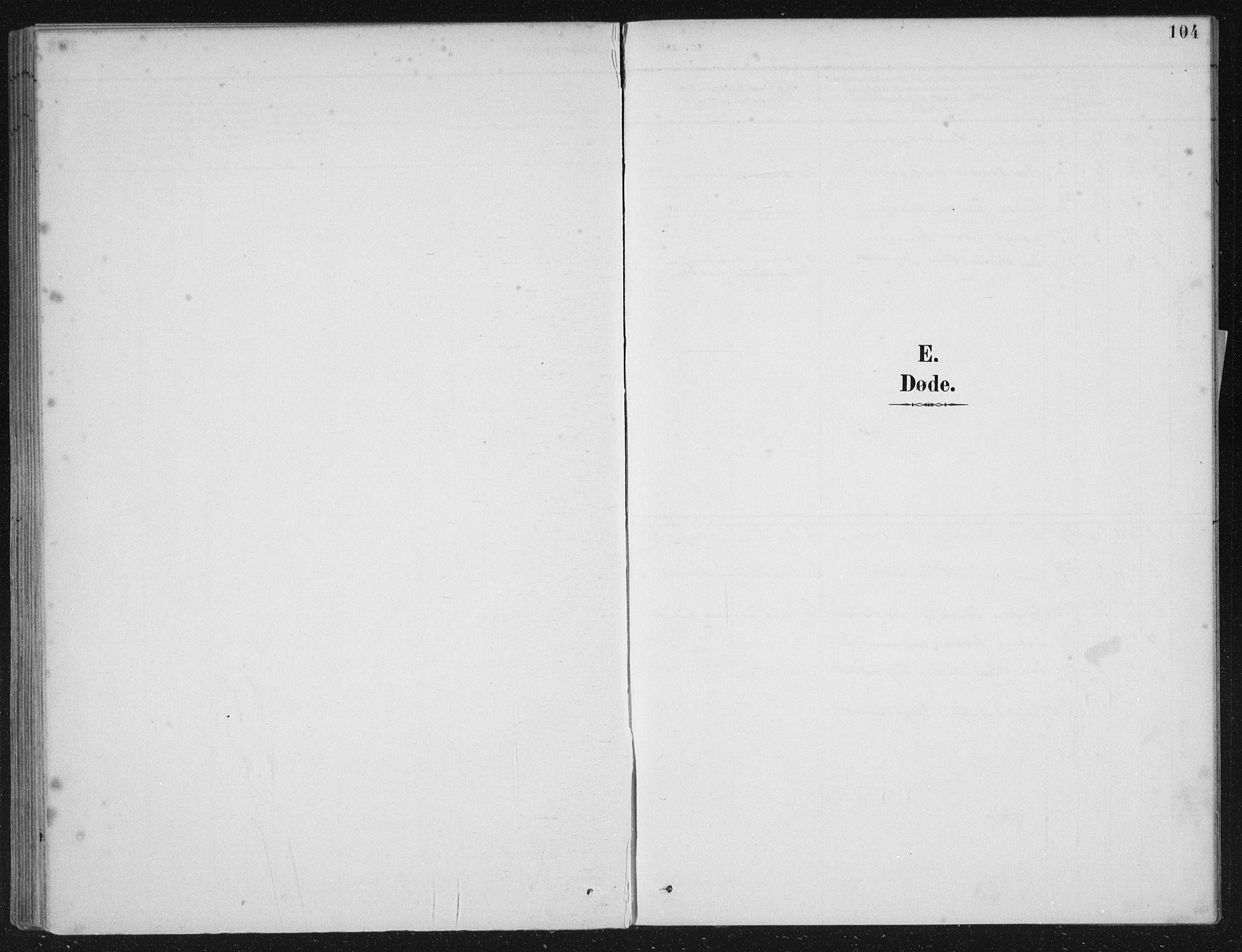 SAB, Kinn sokneprestembete, H/Haa/Haae/L0001: Ministerialbok nr. E 1, 1890-1916, s. 104
