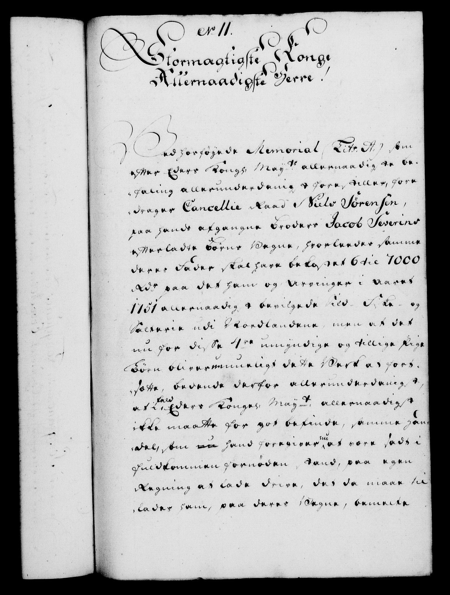 RA, Rentekammeret, Kammerkanselliet, G/Gf/Gfa/L0037: Norsk relasjons- og resolusjonsprotokoll (merket RK 52.37), 1755, s. 98