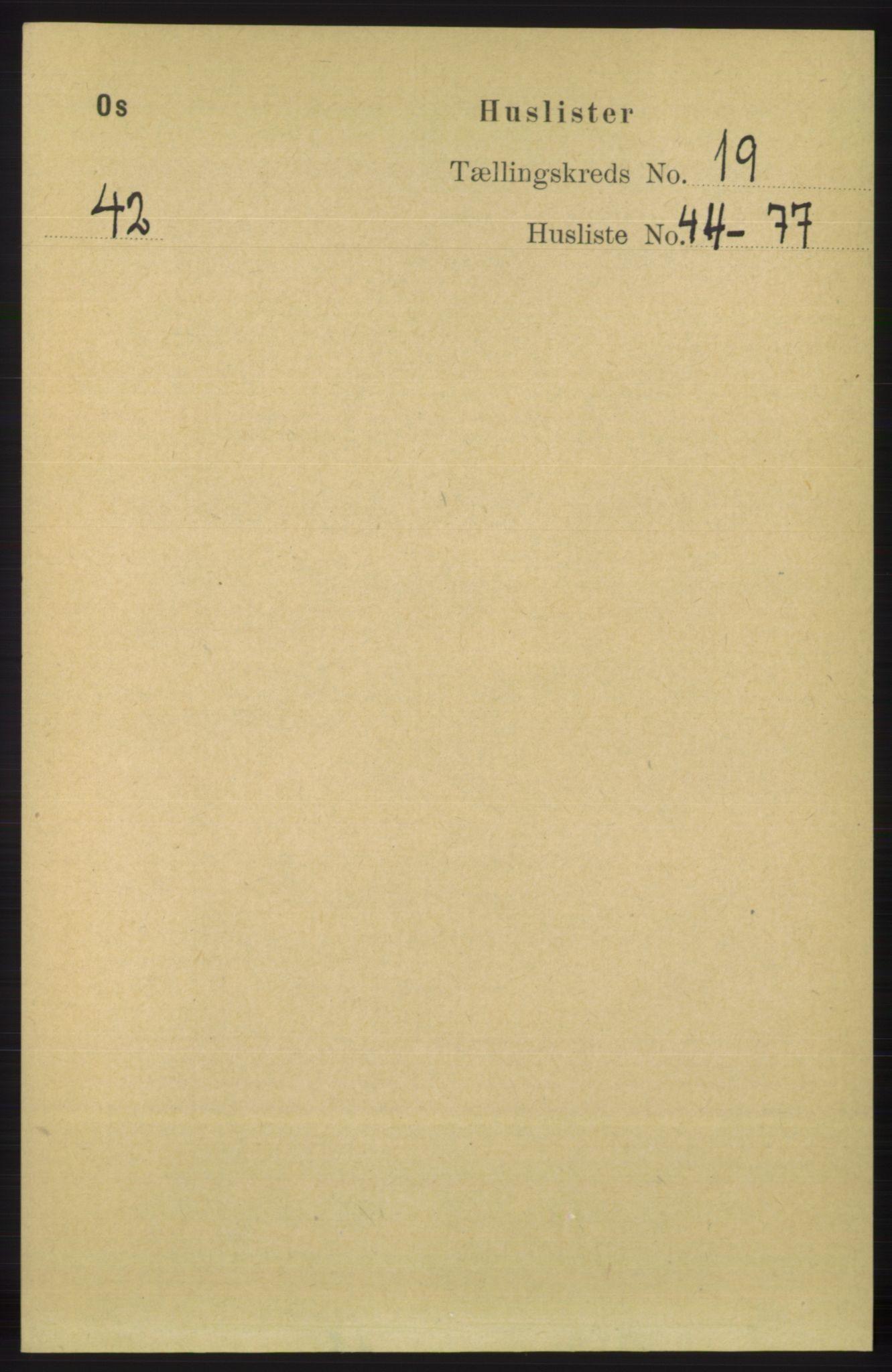 RA, Folketelling 1891 for 1243 Os herred, 1891, s. 4161