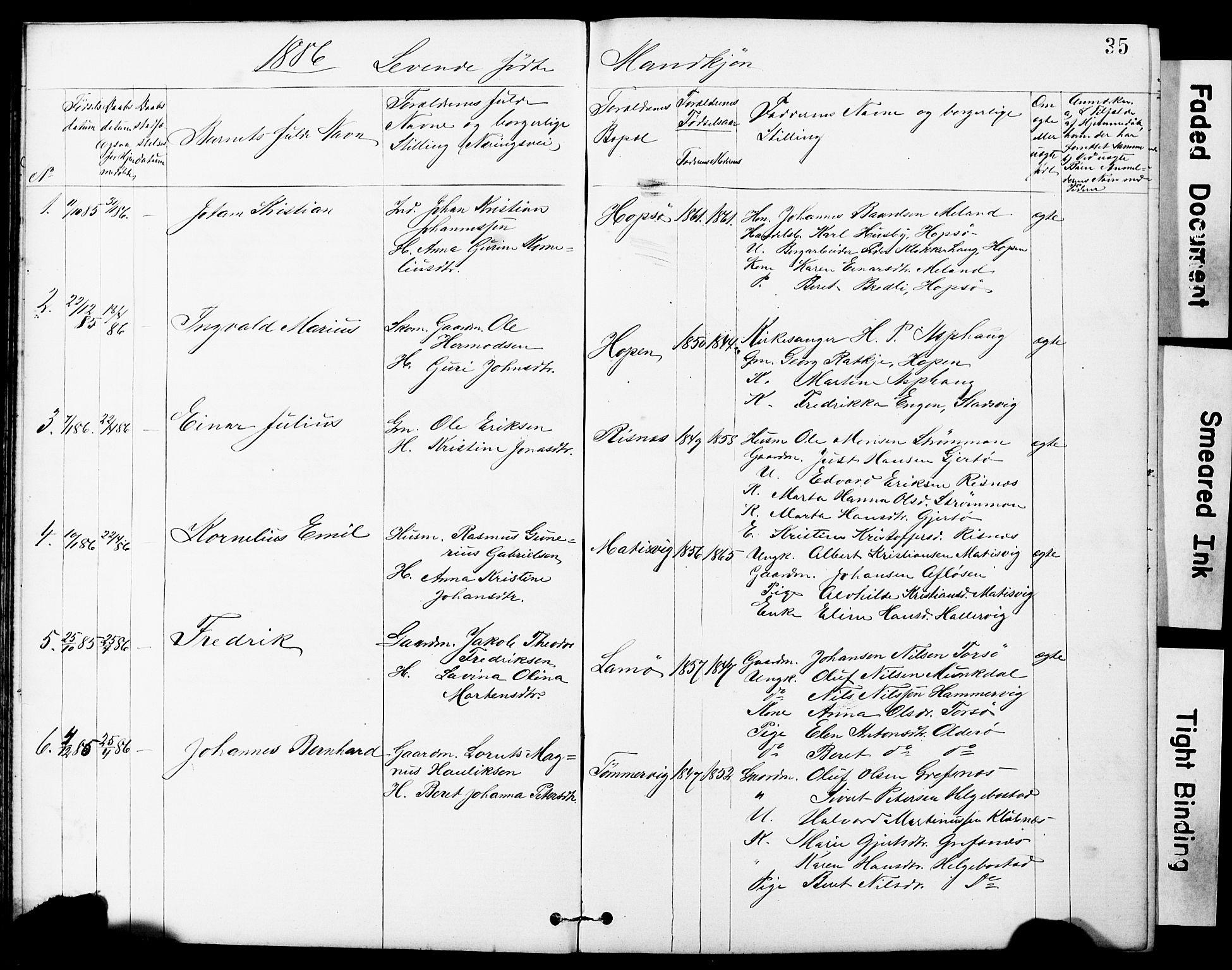 SAT, Ministerialprotokoller, klokkerbøker og fødselsregistre - Sør-Trøndelag, 634/L0541: Klokkerbok nr. 634C03, 1874-1891, s. 35