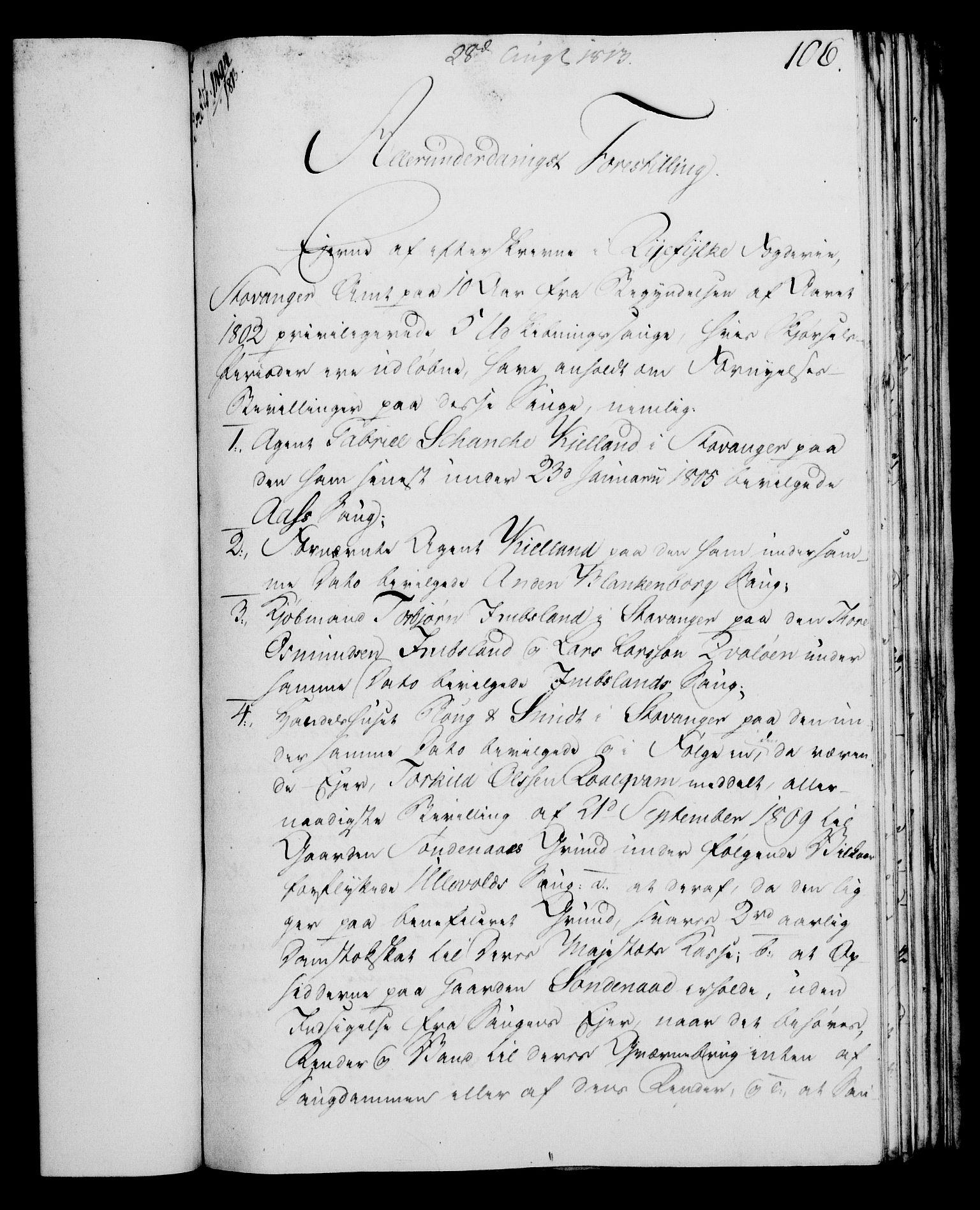 RA, Rentekammeret, Kammerkanselliet, G/Gf/Gfa/L0095: Norsk relasjons- og resolusjonsprotokoll (merket RK 52.95), 1813-1814, s. 453