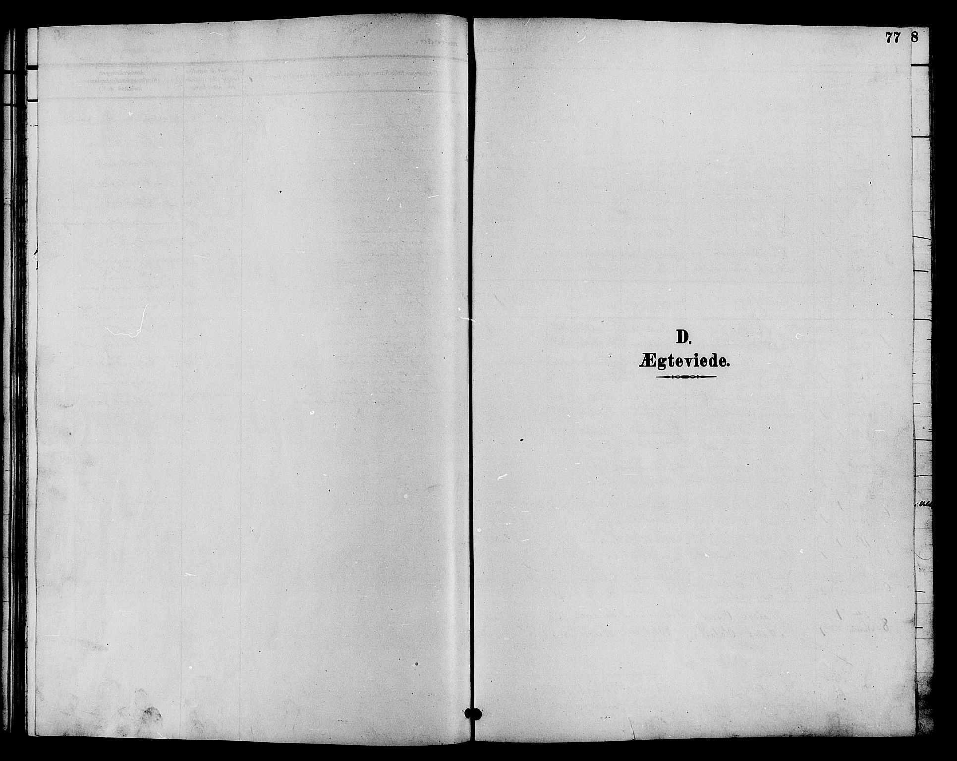 SAH, Øystre Slidre prestekontor, Klokkerbok nr. 4, 1887-1907, s. 77