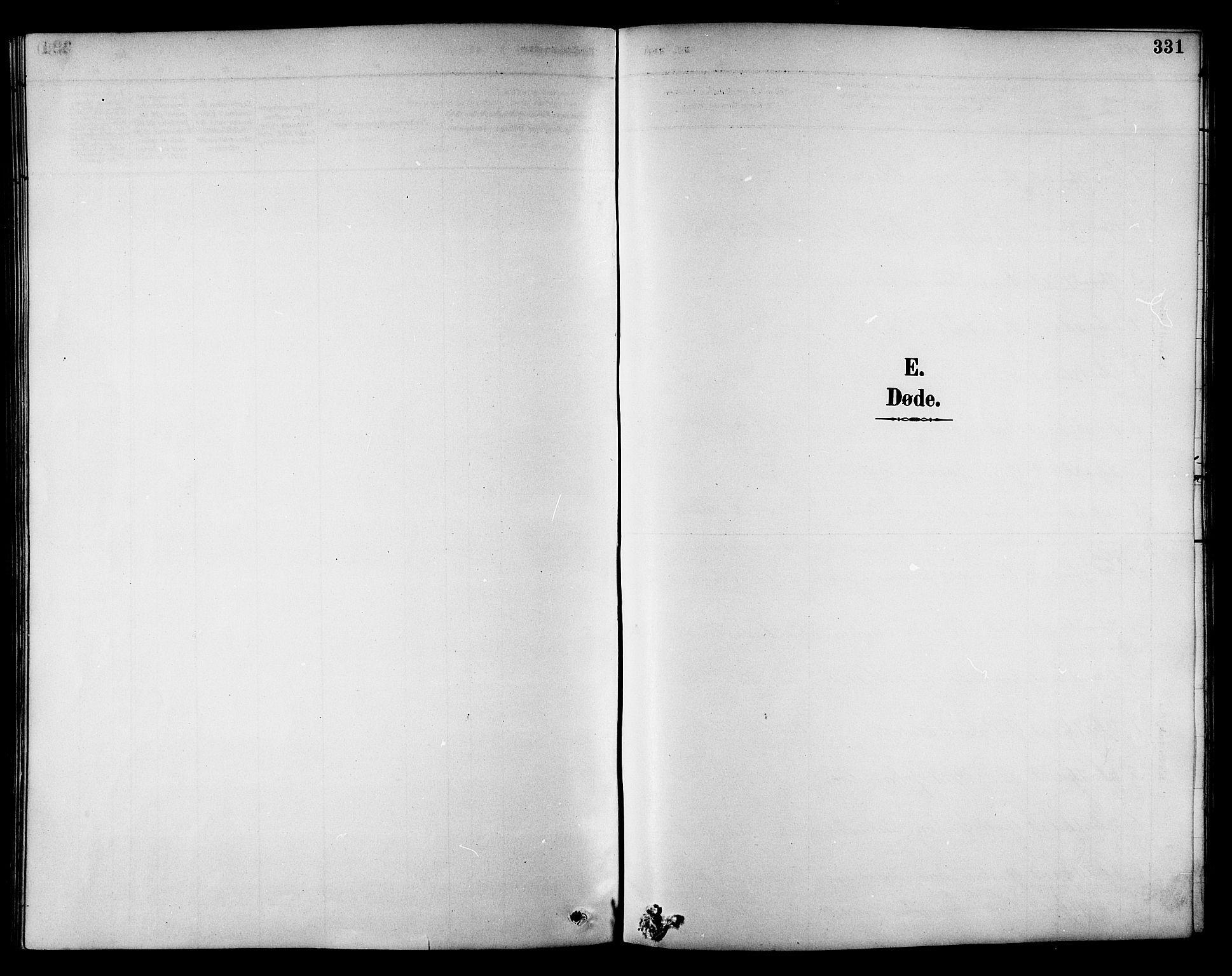 SAT, Ministerialprotokoller, klokkerbøker og fødselsregistre - Sør-Trøndelag, 695/L1157: Klokkerbok nr. 695C08, 1889-1913, s. 331