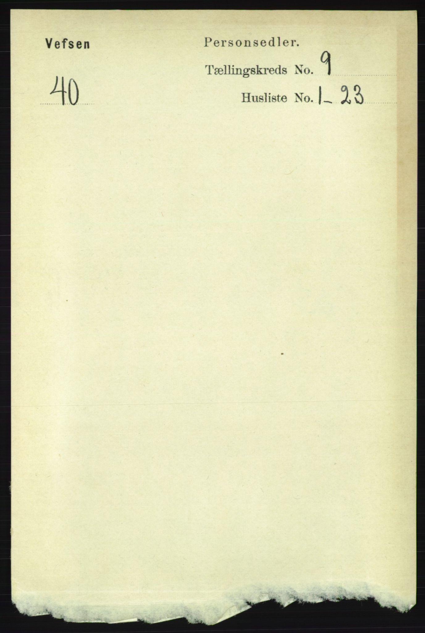 RA, Folketelling 1891 for 1824 Vefsn herred, 1891, s. 4695