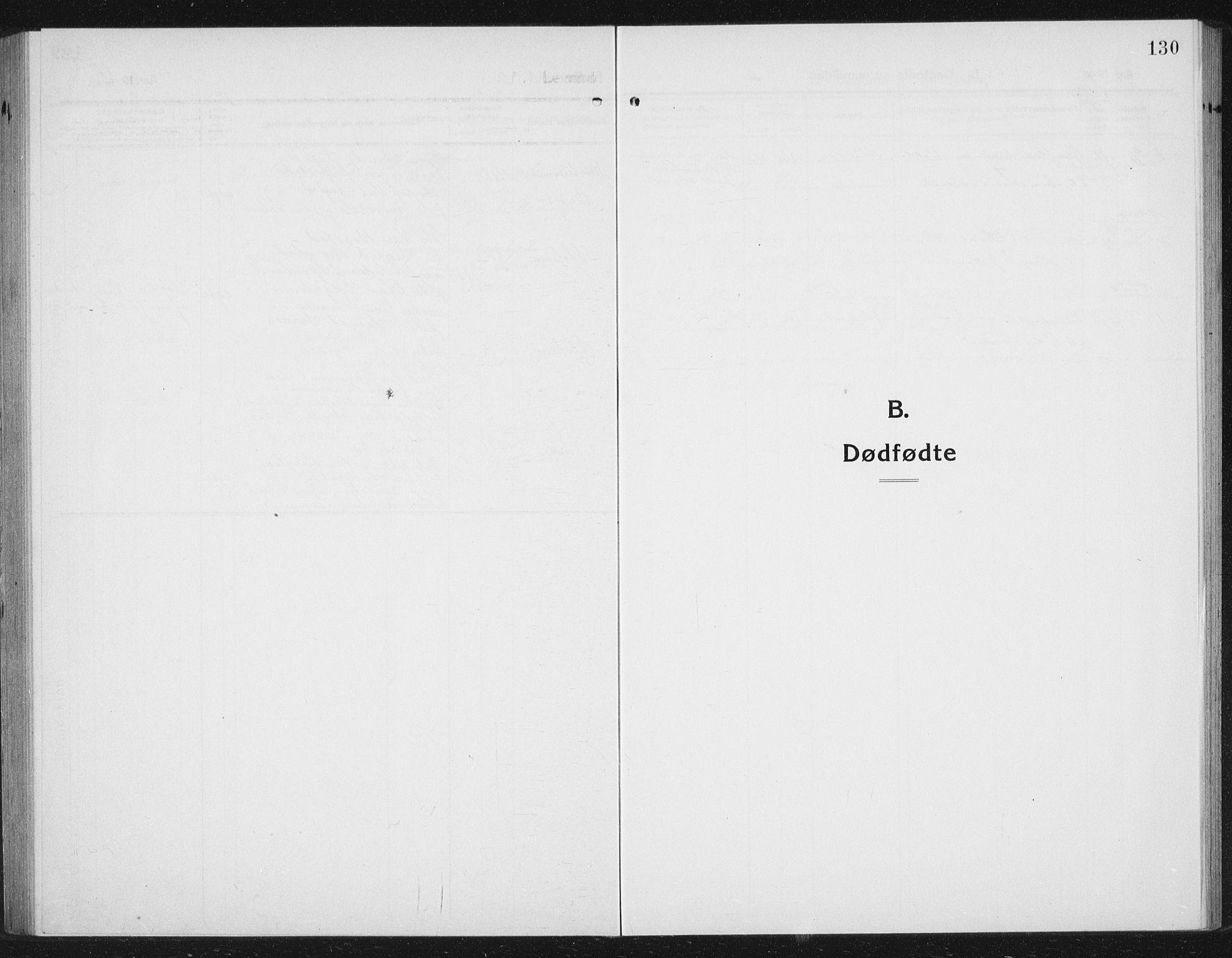 SAT, Ministerialprotokoller, klokkerbøker og fødselsregistre - Sør-Trøndelag, 630/L0506: Klokkerbok nr. 630C04, 1914-1933, s. 130