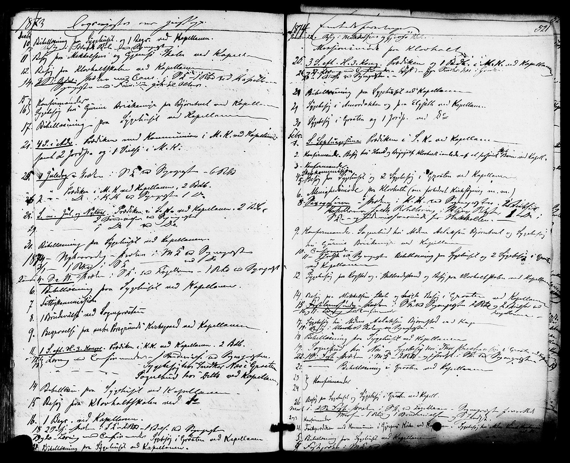 SAKO, Solum kirkebøker, F/Fa/L0008: Ministerialbok nr. I 8, 1865-1876, s. 521
