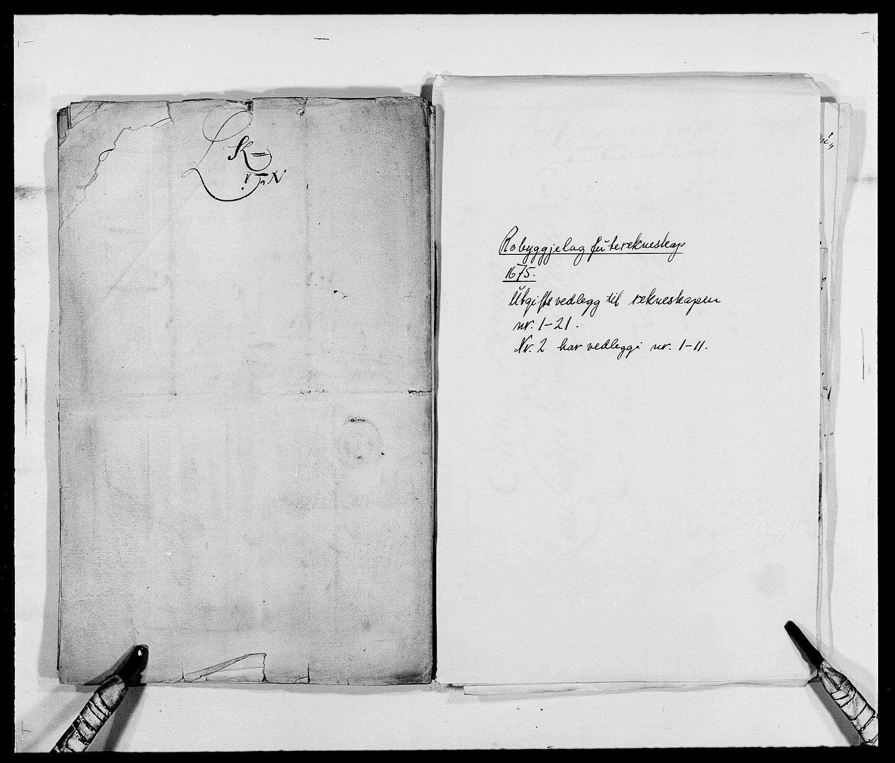 RA, Rentekammeret inntil 1814, Reviderte regnskaper, Fogderegnskap, R40/L2434: Fogderegnskap Råbyggelag, 1675-1676, s. 116
