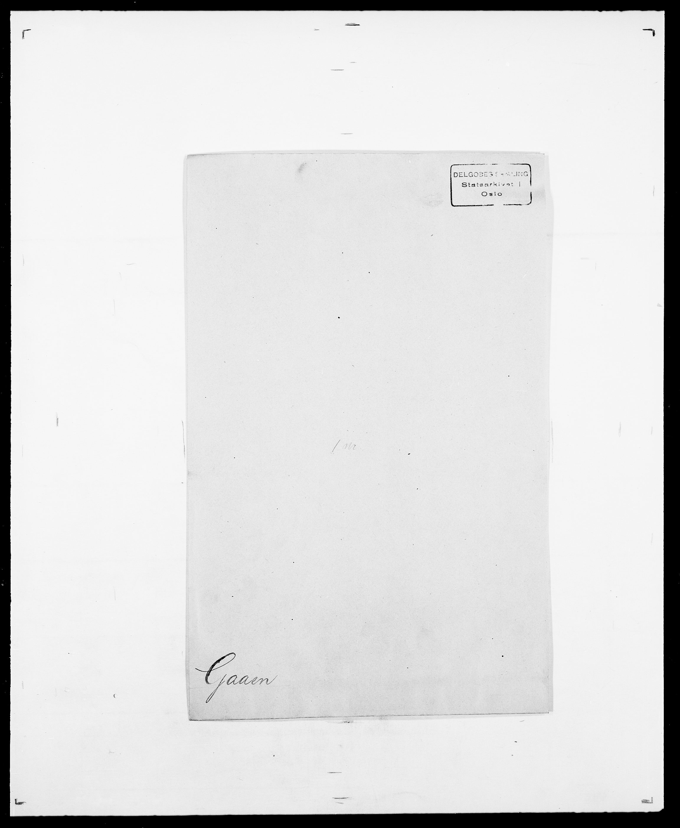 SAO, Delgobe, Charles Antoine - samling, D/Da/L0013: Forbos - Geving, s. 306