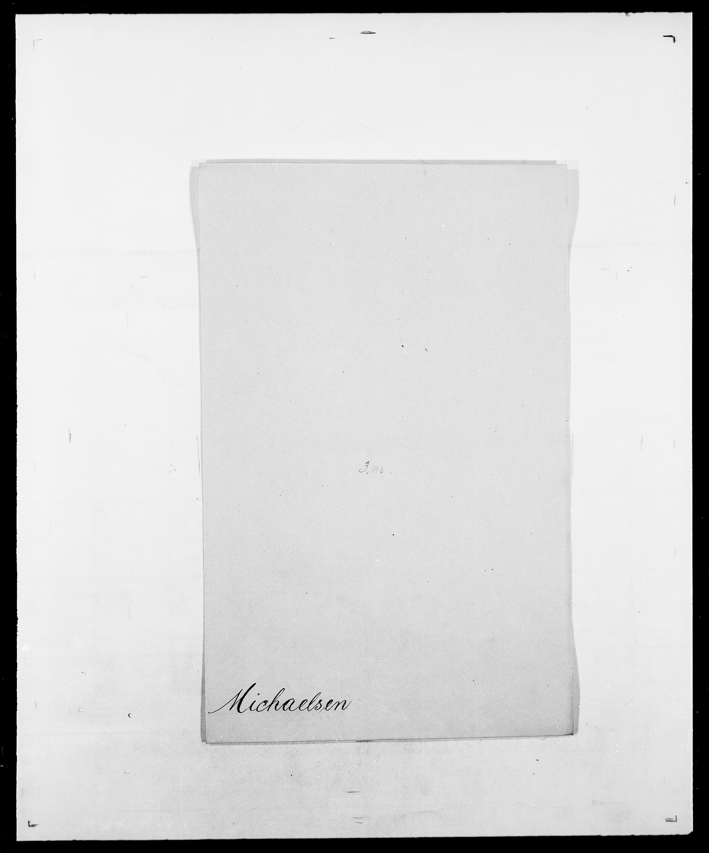 SAO, Delgobe, Charles Antoine - samling, D/Da/L0026: Mechelby - Montoppidan, s. 509