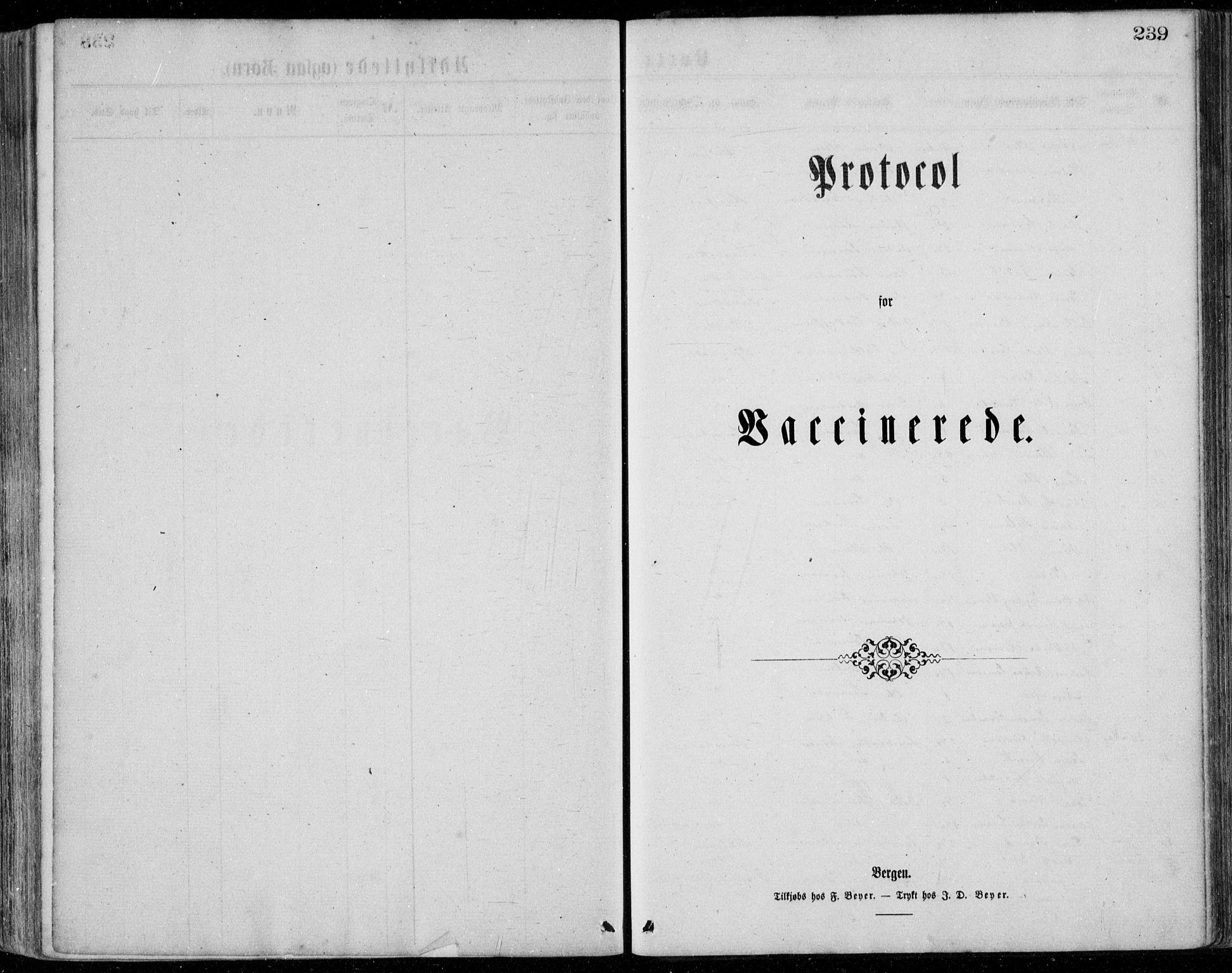 SAB, Bremanger Sokneprestembete, H/Haa: Ministerialbok nr. A  1, 1864-1883, s. 239