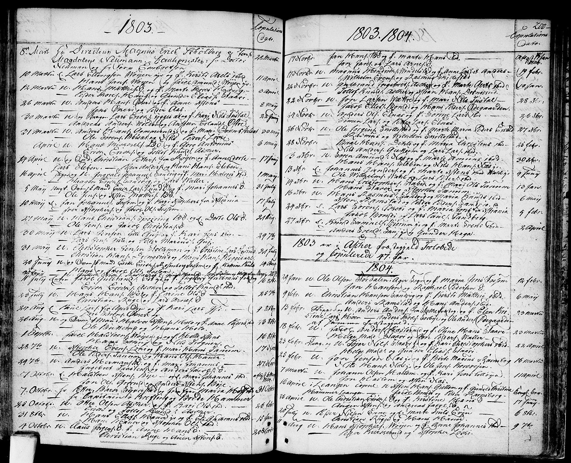 SAO, Asker prestekontor Kirkebøker, F/Fa/L0003: Ministerialbok nr. I 3, 1767-1807, s. 200
