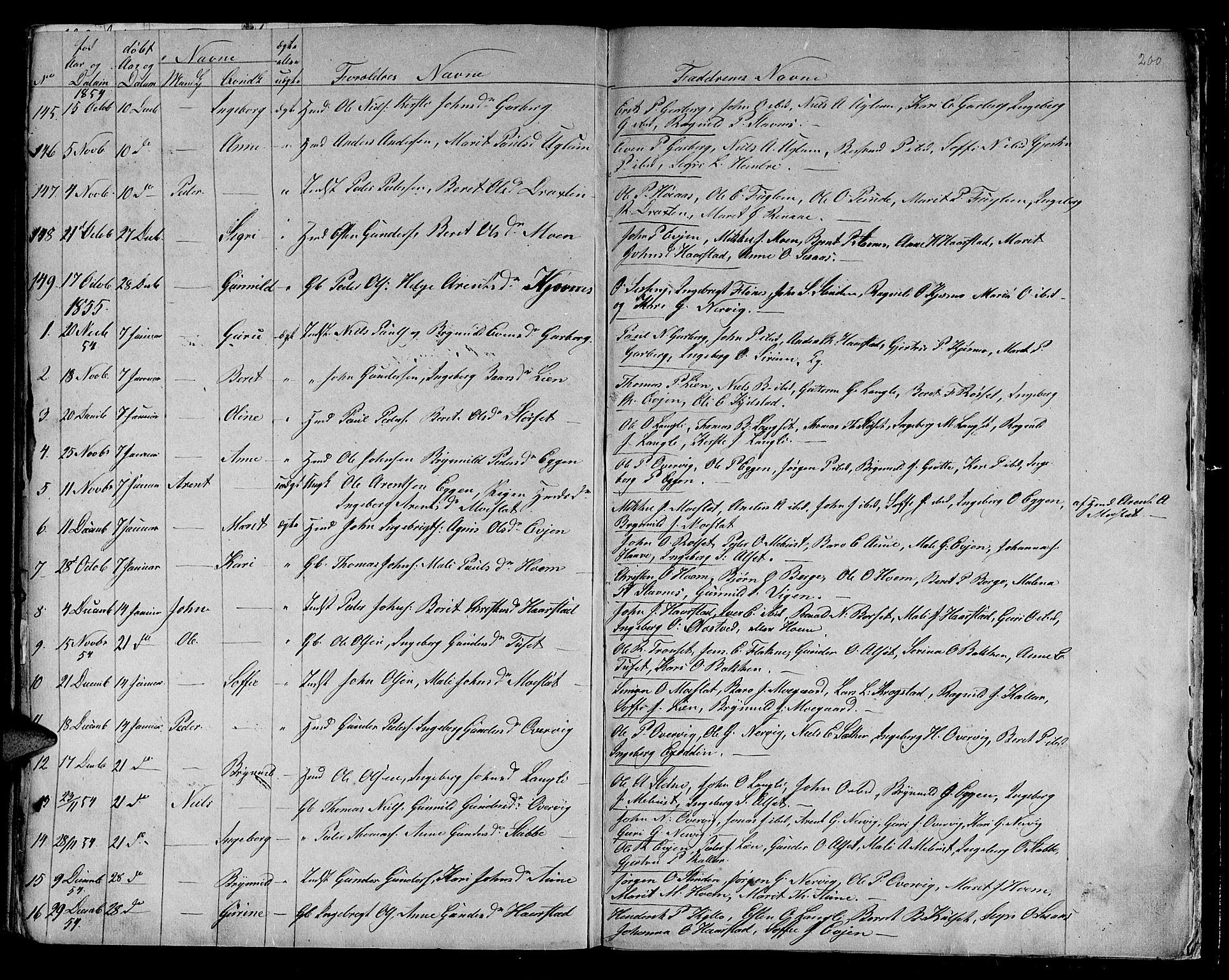 SAT, Ministerialprotokoller, klokkerbøker og fødselsregistre - Sør-Trøndelag, 695/L1154: Klokkerbok nr. 695C05, 1842-1858, s. 200