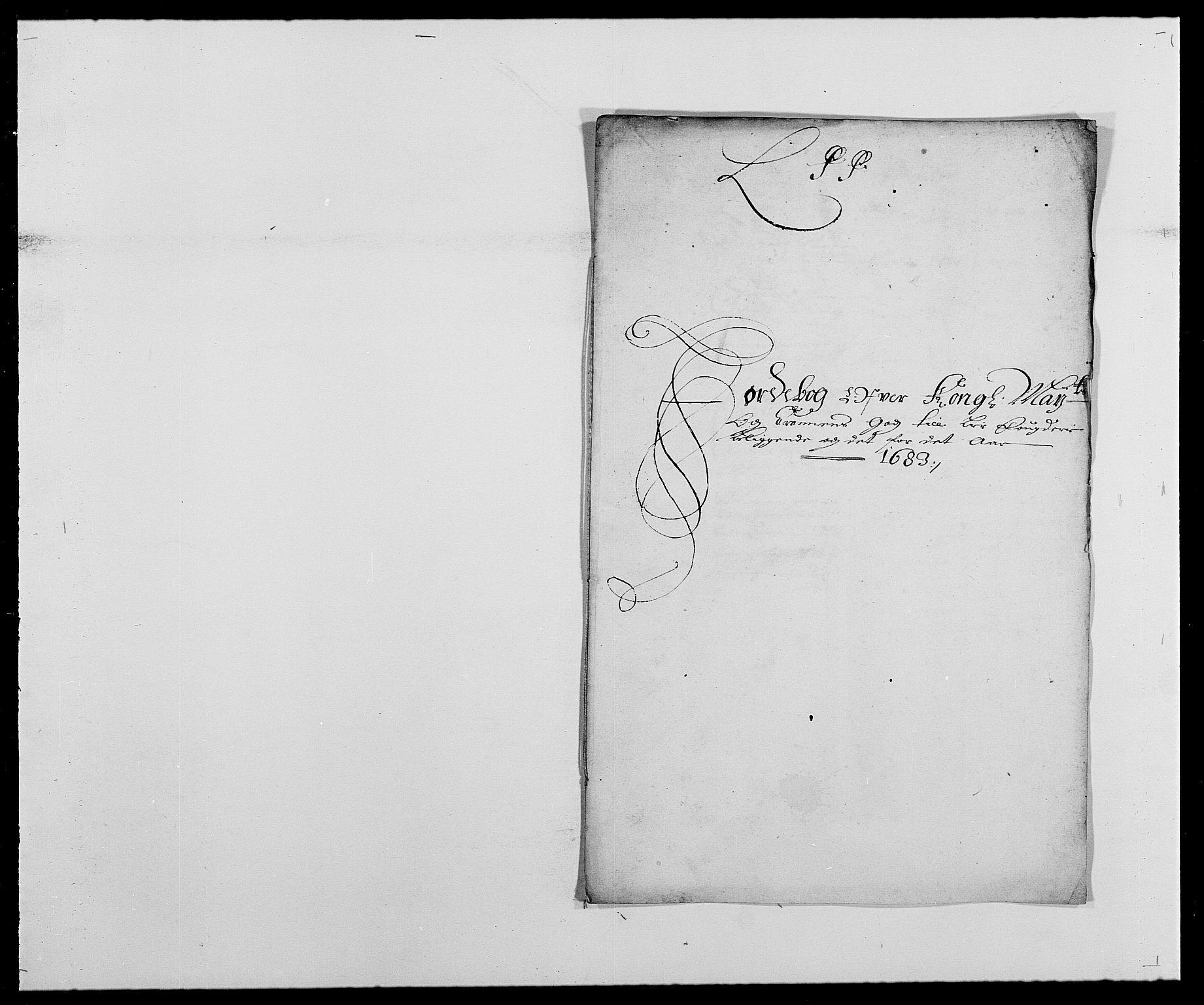 RA, Rentekammeret inntil 1814, Reviderte regnskaper, Fogderegnskap, R27/L1687: Fogderegnskap Lier, 1678-1686, s. 1