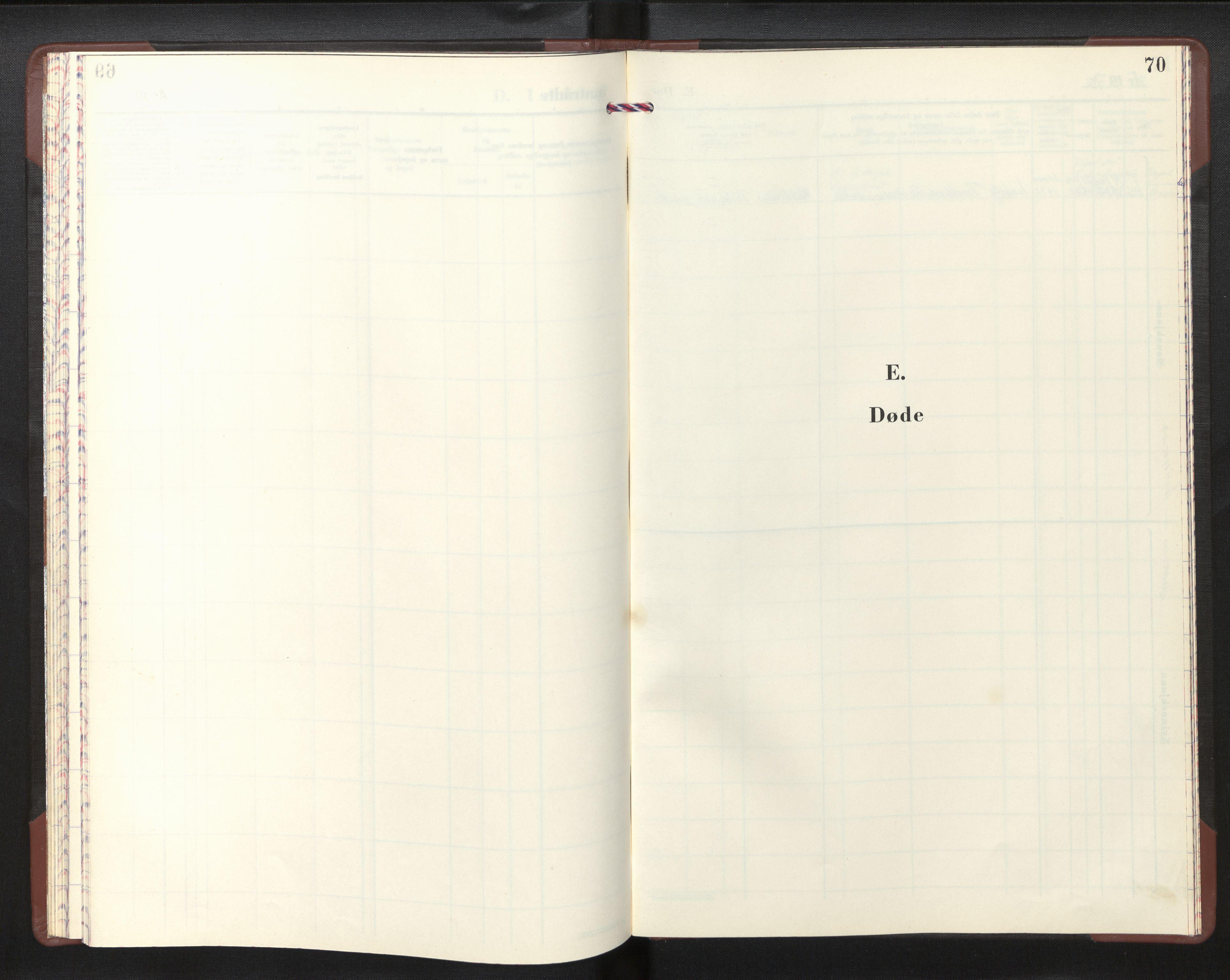 SAB, Den norske sjømannsmisjon i utlandet/Skotske havner (Leith, Glasgow), H/Ha/Haa/L0006: Ministerialbok nr. A 6, 1966-1973, s. 69b-70a