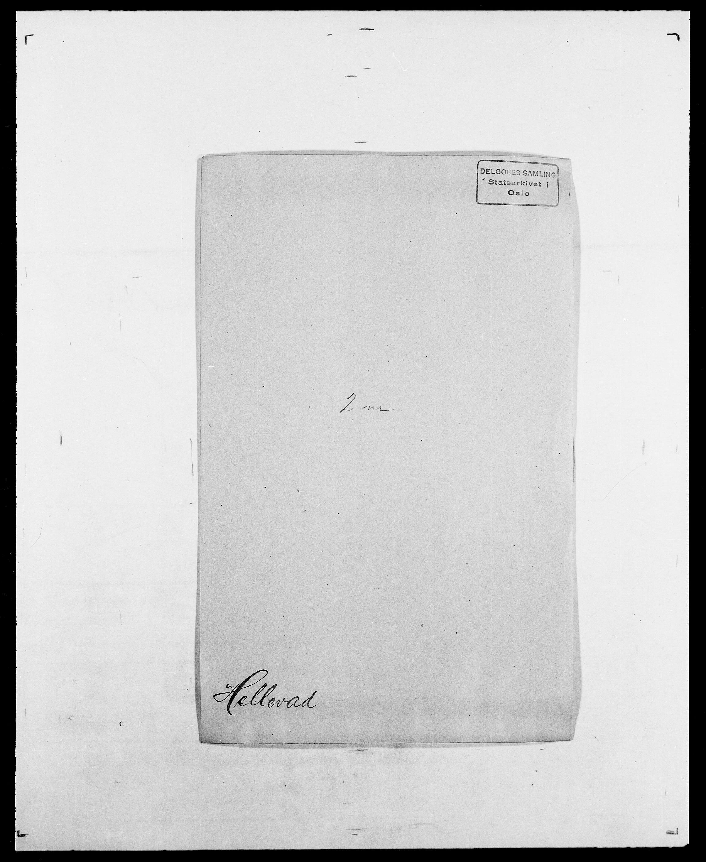 SAO, Delgobe, Charles Antoine - samling, D/Da/L0017: Helander - Hjørne, s. 75