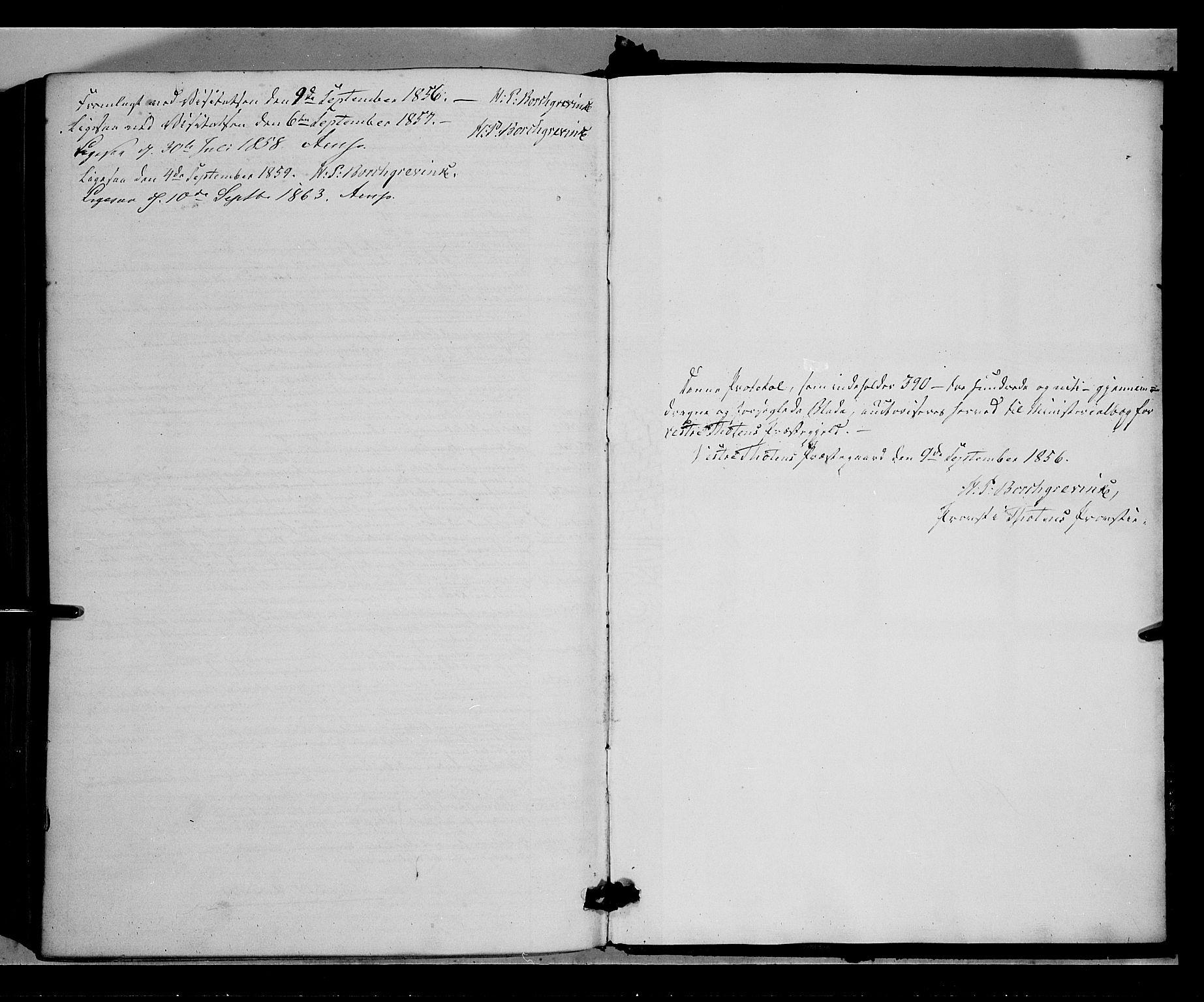 SAH, Vestre Toten prestekontor, Ministerialbok nr. 6, 1856-1861
