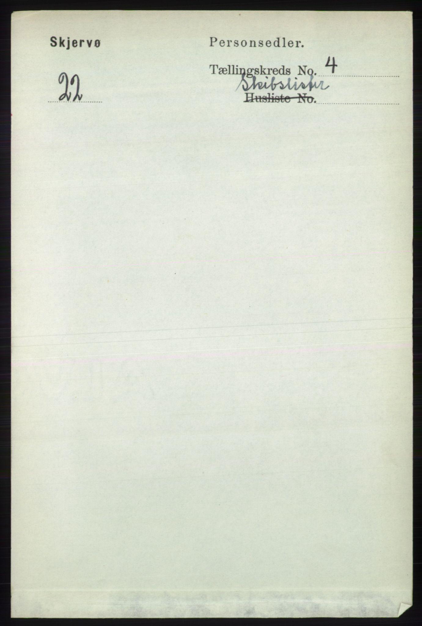 RA, Folketelling 1891 for 1941 Skjervøy herred, 1891, s. 2871