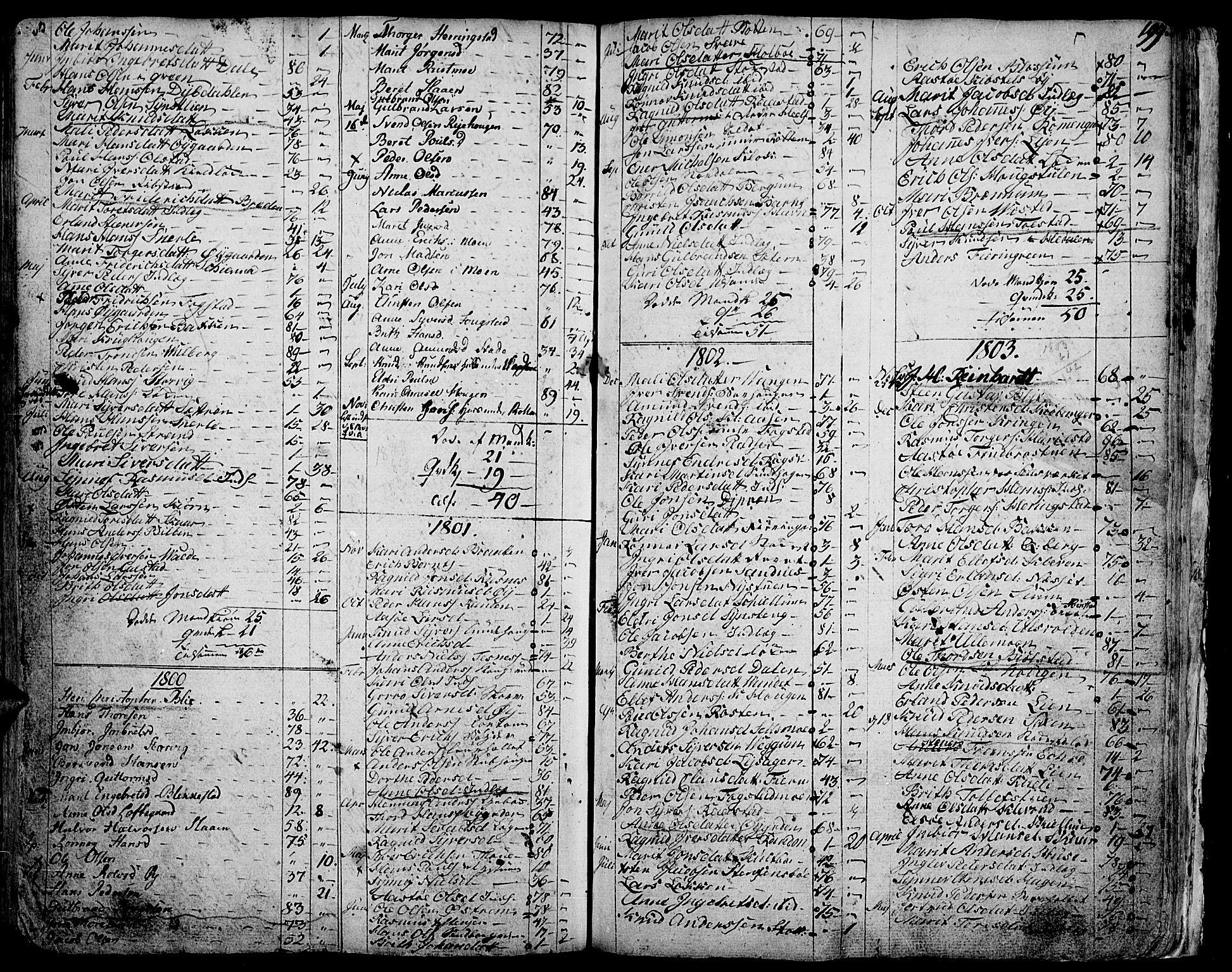 SAH, Vågå prestekontor, Ministerialbok nr. 1, 1739-1810, s. 199