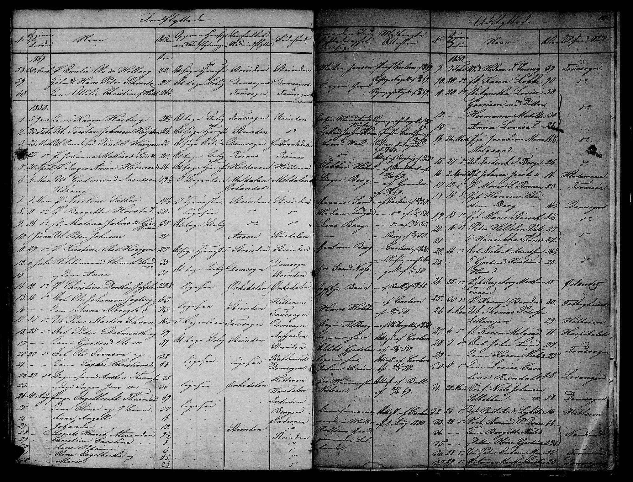 SAT, Ministerialprotokoller, klokkerbøker og fødselsregistre - Sør-Trøndelag, 604/L0182: Ministerialbok nr. 604A03, 1818-1850, s. 185b