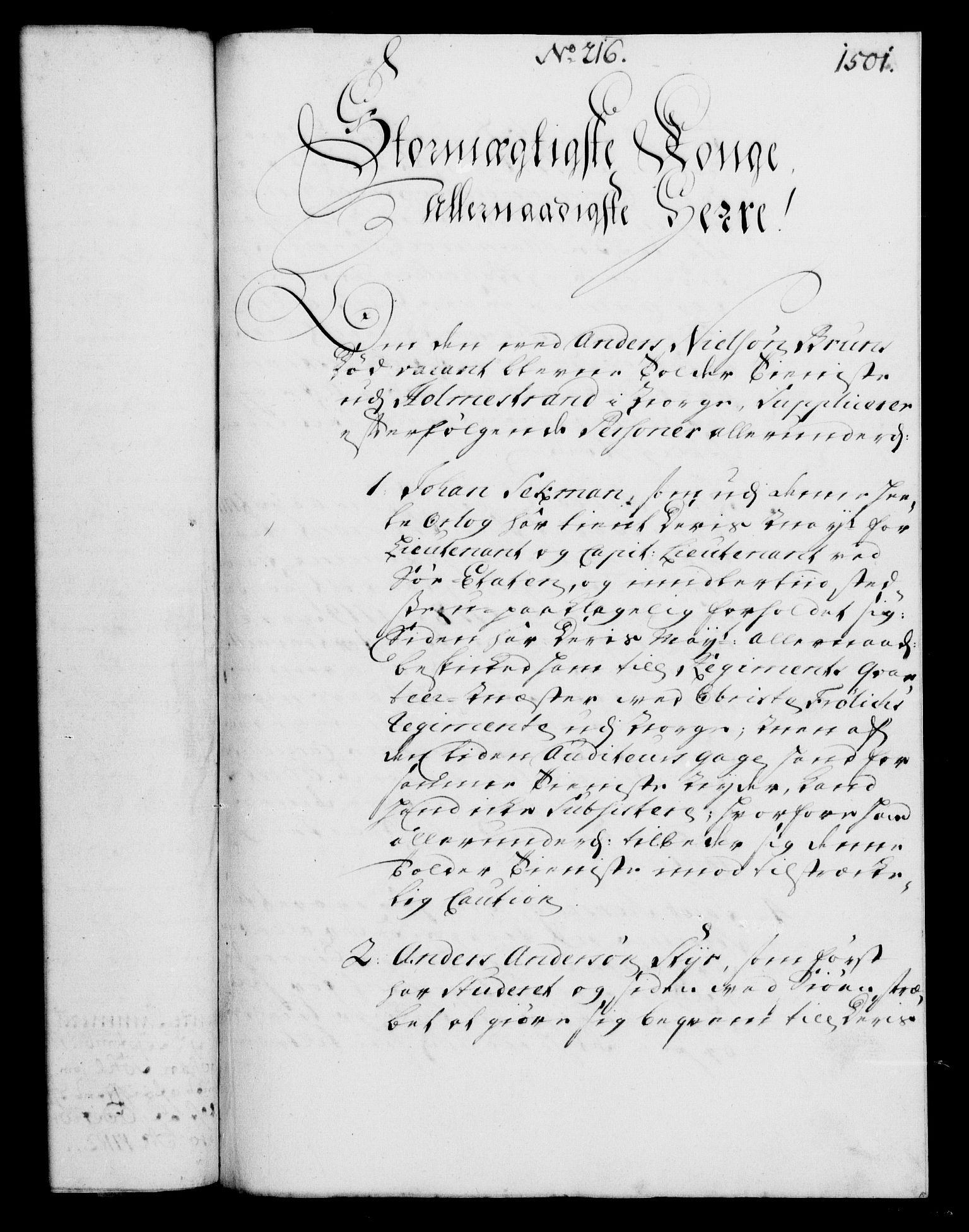 RA, Rentekammeret, Kammerkanselliet, G/Gf/Gfa/L0003: Norsk relasjons- og resolusjonsprotokoll (merket RK 52.3), 1720, s. 476