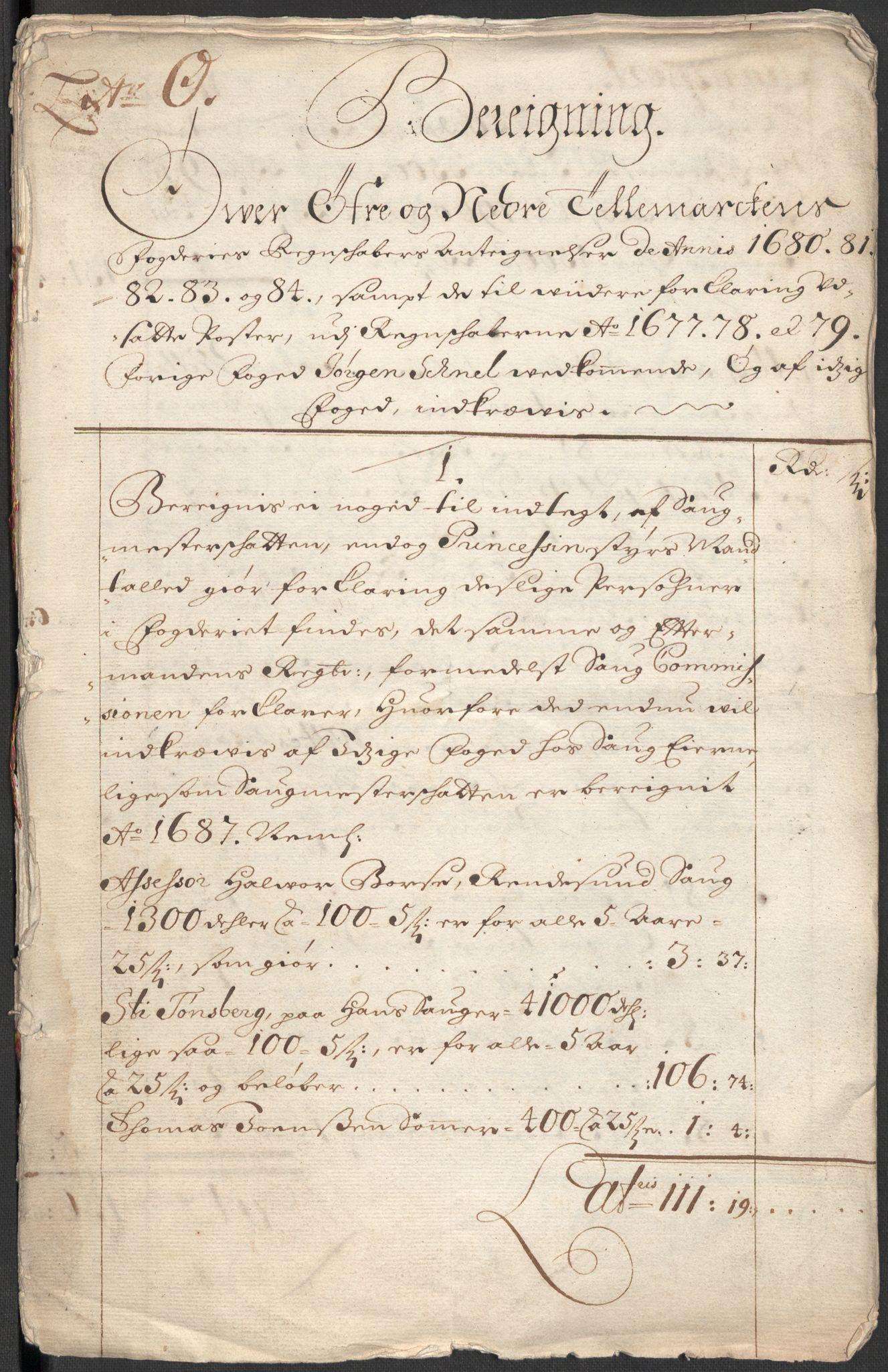 RA, Rentekammeret inntil 1814, Reviderte regnskaper, Fogderegnskap, R35/L2089: Fogderegnskap Øvre og Nedre Telemark, 1690-1692, s. 494