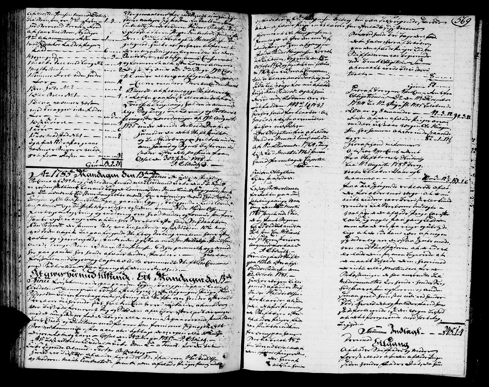SAH, Østerdalen sorenskriveri, J/Ja/L0004: Skifteprotokoll, 1781-1785, s. 568b-569a