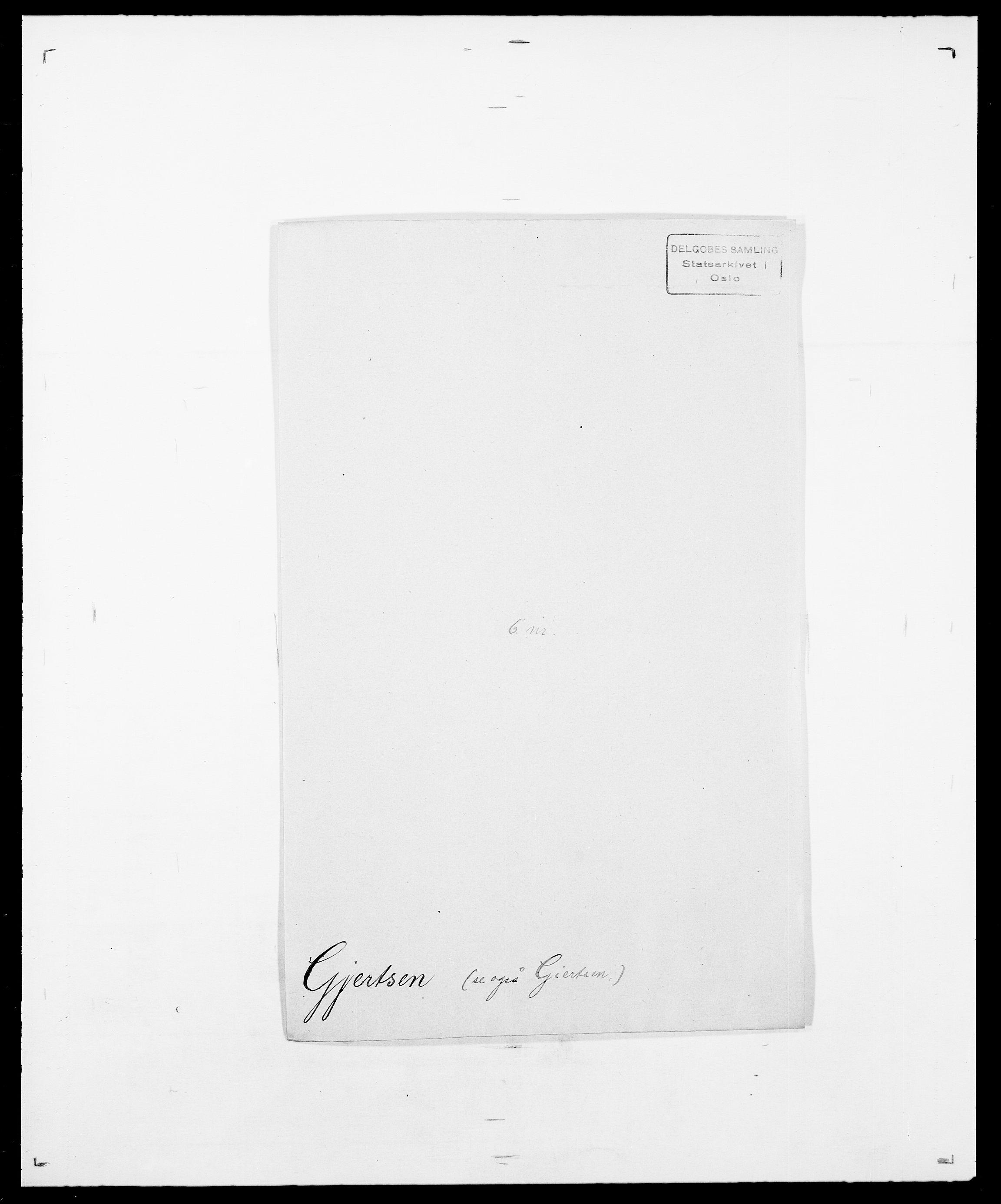 SAO, Delgobe, Charles Antoine - samling, D/Da/L0014: Giebdhausen - Grip, s. 165