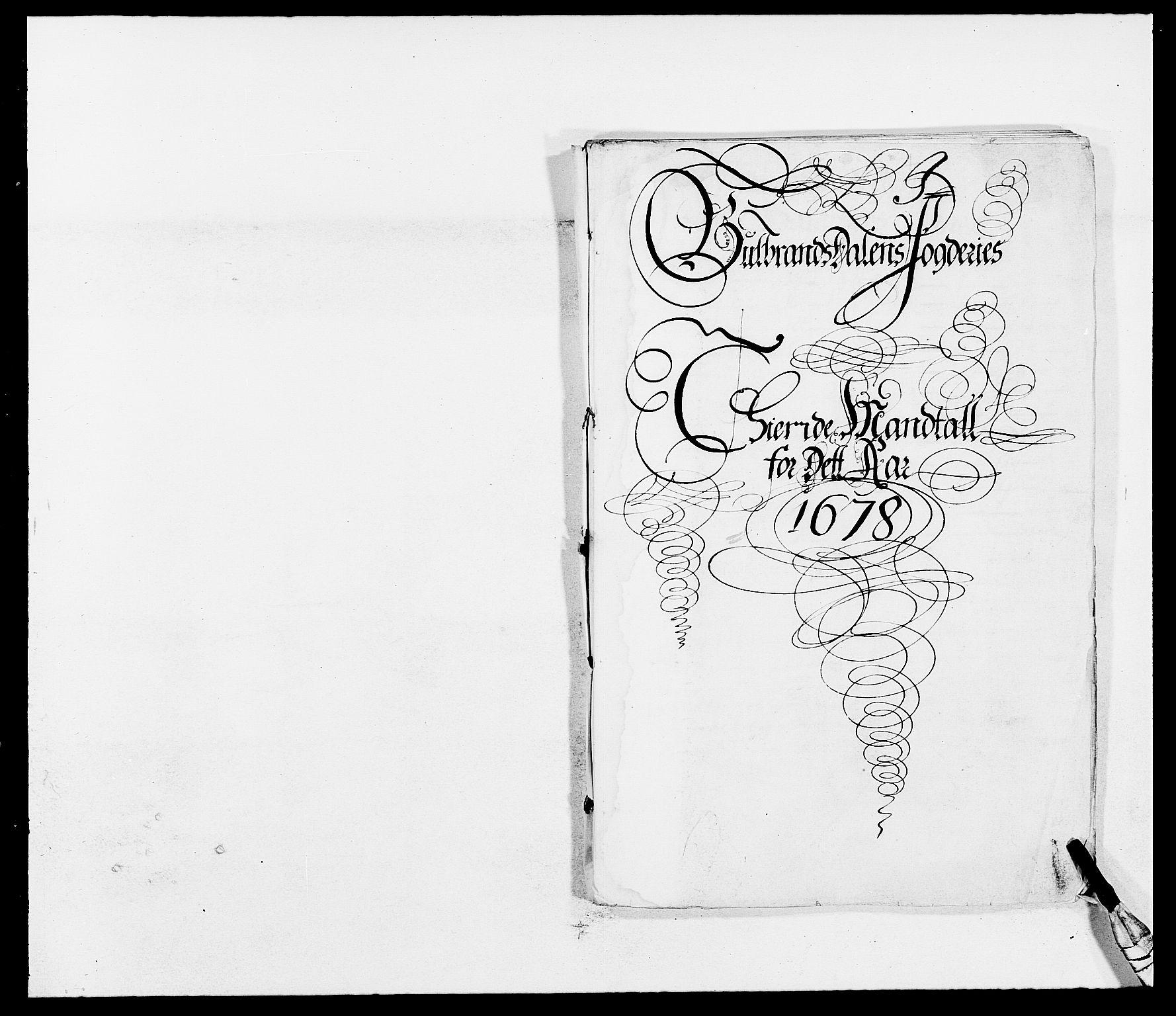 RA, Rentekammeret inntil 1814, Reviderte regnskaper, Fogderegnskap, R17/L1152: Fogderegnskap Gudbrandsdal, 1678-1679, s. 328