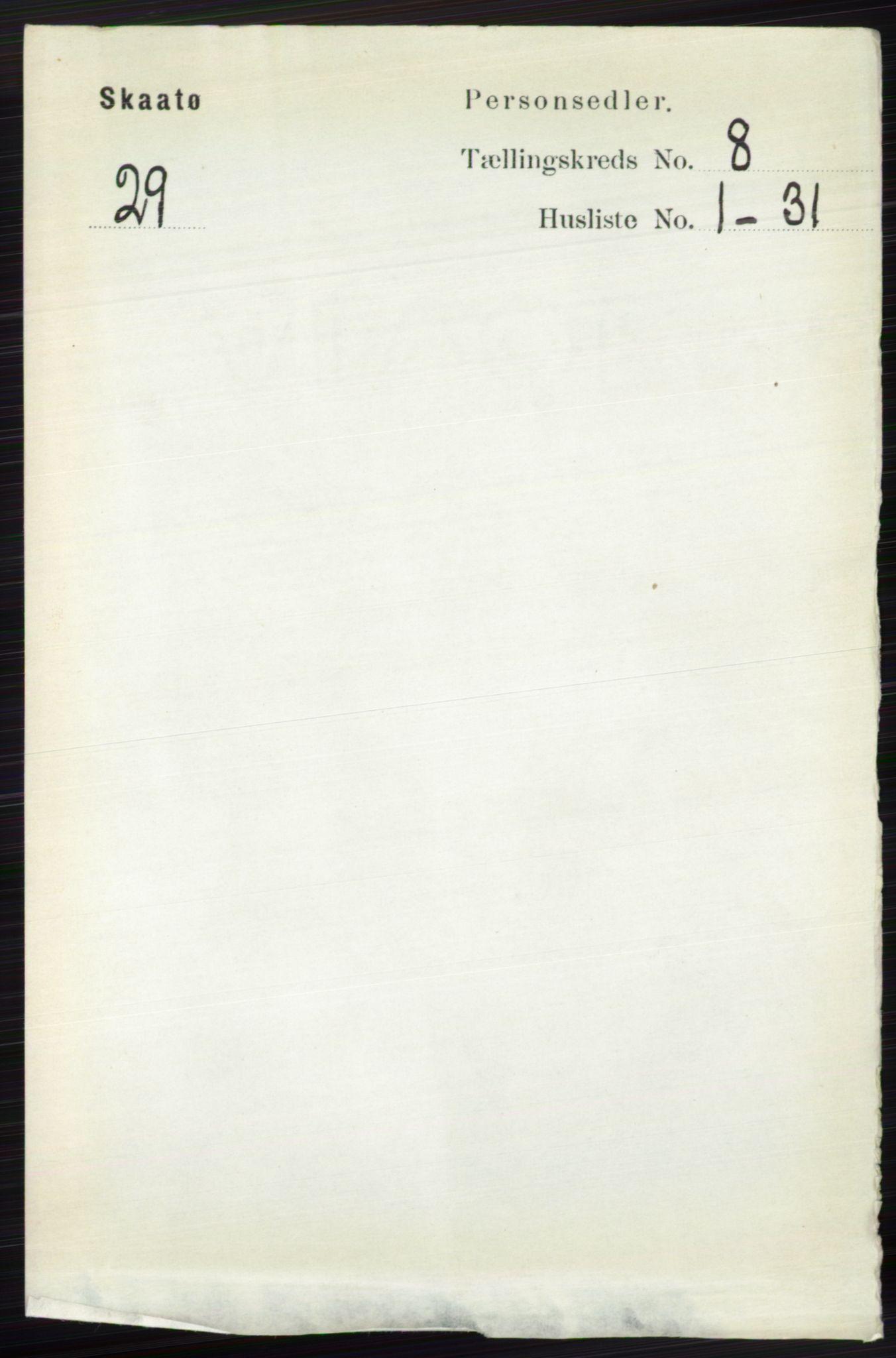 RA, Folketelling 1891 for 0815 Skåtøy herred, 1891, s. 3530