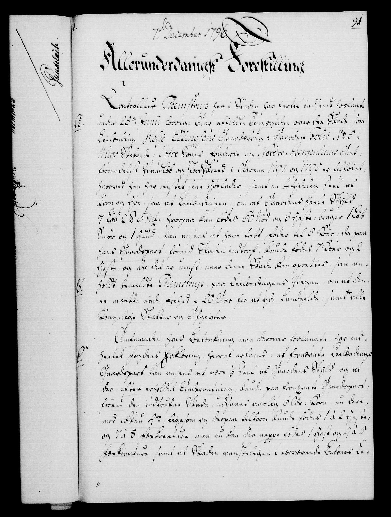 RA, Rentekammeret, Kammerkanselliet, G/Gf/Gfa/L0078: Norsk relasjons- og resolusjonsprotokoll (merket RK 52.78), 1796, s. 487