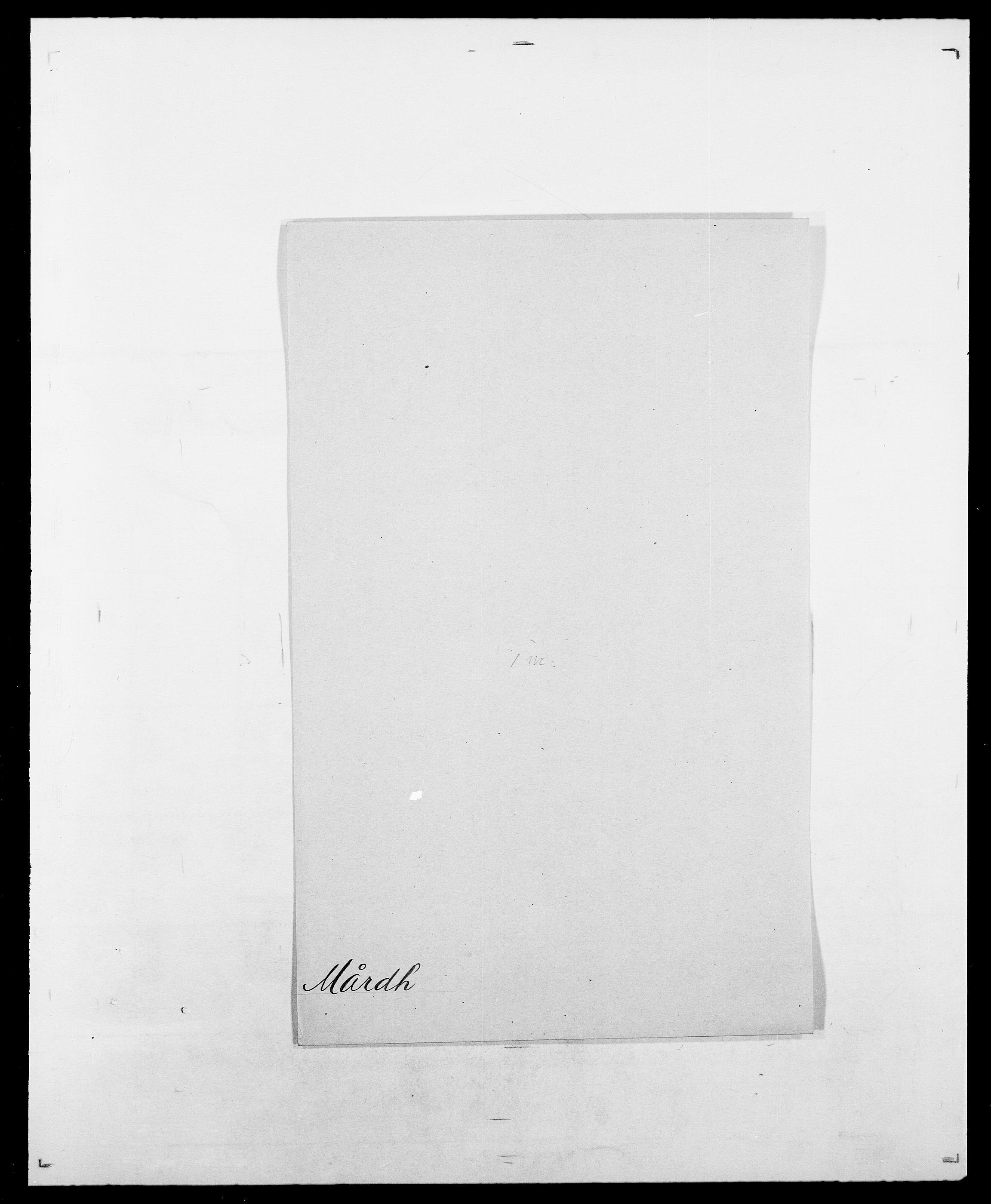 SAO, Delgobe, Charles Antoine - samling, D/Da/L0025: Løberg - Mazar, s. 160
