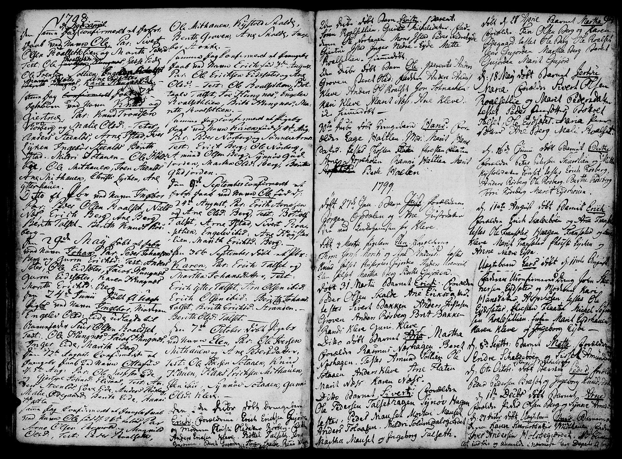 SAT, Ministerialprotokoller, klokkerbøker og fødselsregistre - Møre og Romsdal, 555/L0650: Ministerialbok nr. 555A02 /2, 1798-1821, s. 94