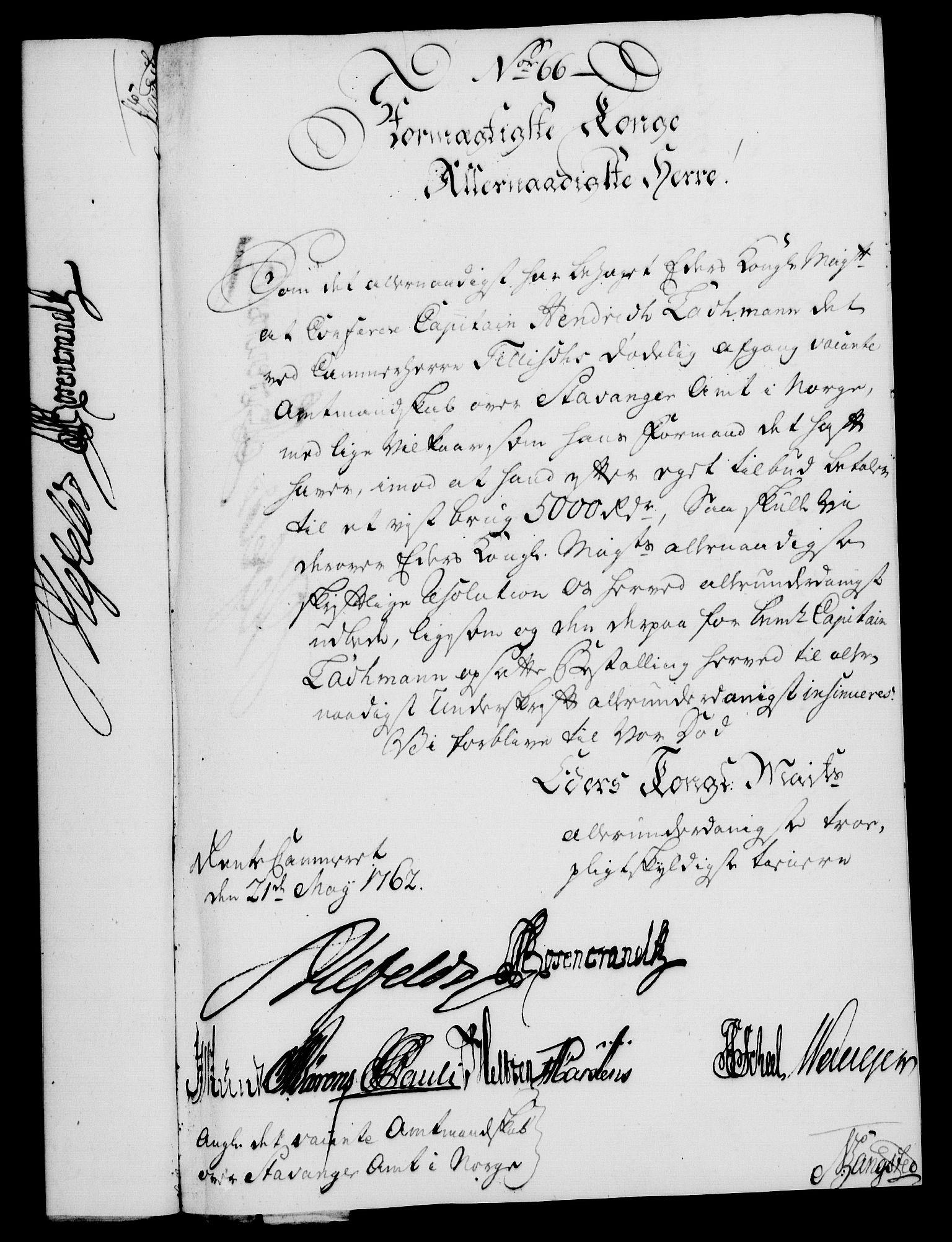 RA, Rentekammeret, Kammerkanselliet, G/Gf/Gfa/L0044: Norsk relasjons- og resolusjonsprotokoll (merket RK 52.44), 1762, s. 269