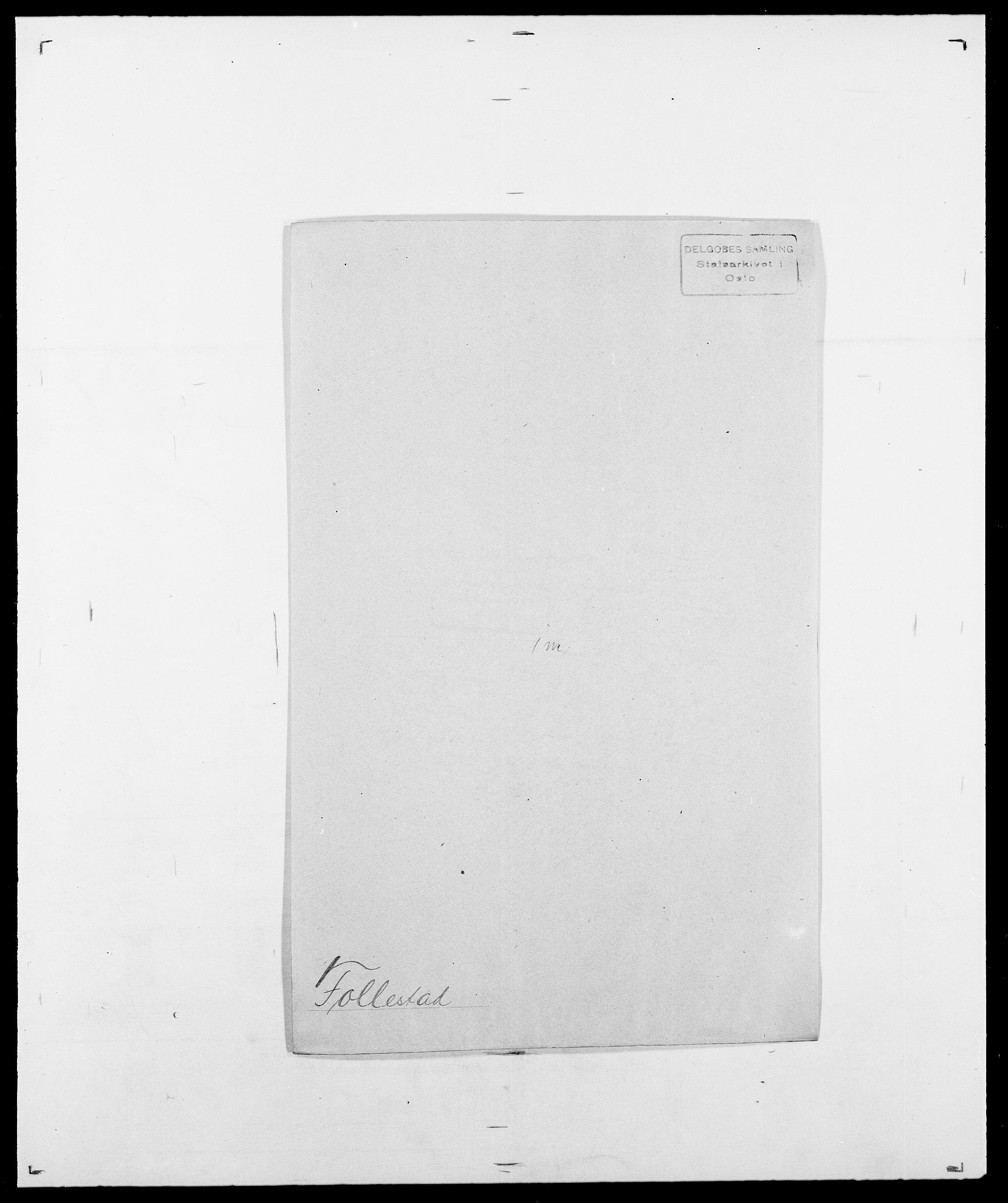 SAO, Delgobe, Charles Antoine - samling, D/Da/L0012: Flor, Floer, Flohr - Fritzner, s. 572