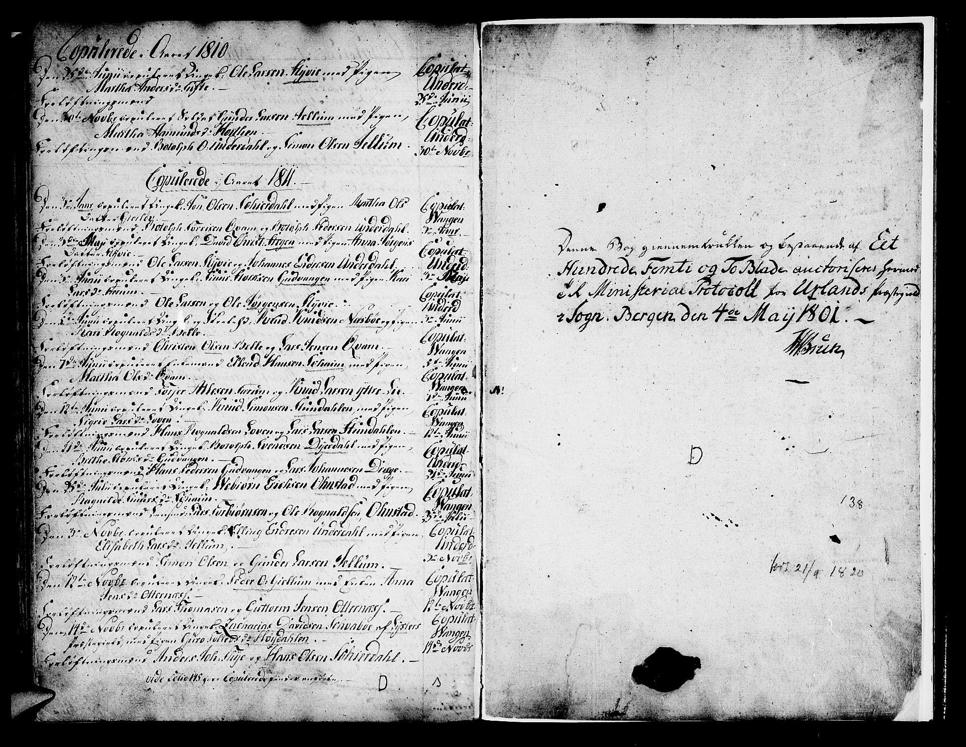 SAB, Aurland Sokneprestembete*, Ministerialbok nr. A 5, 1801-1821, s. 153