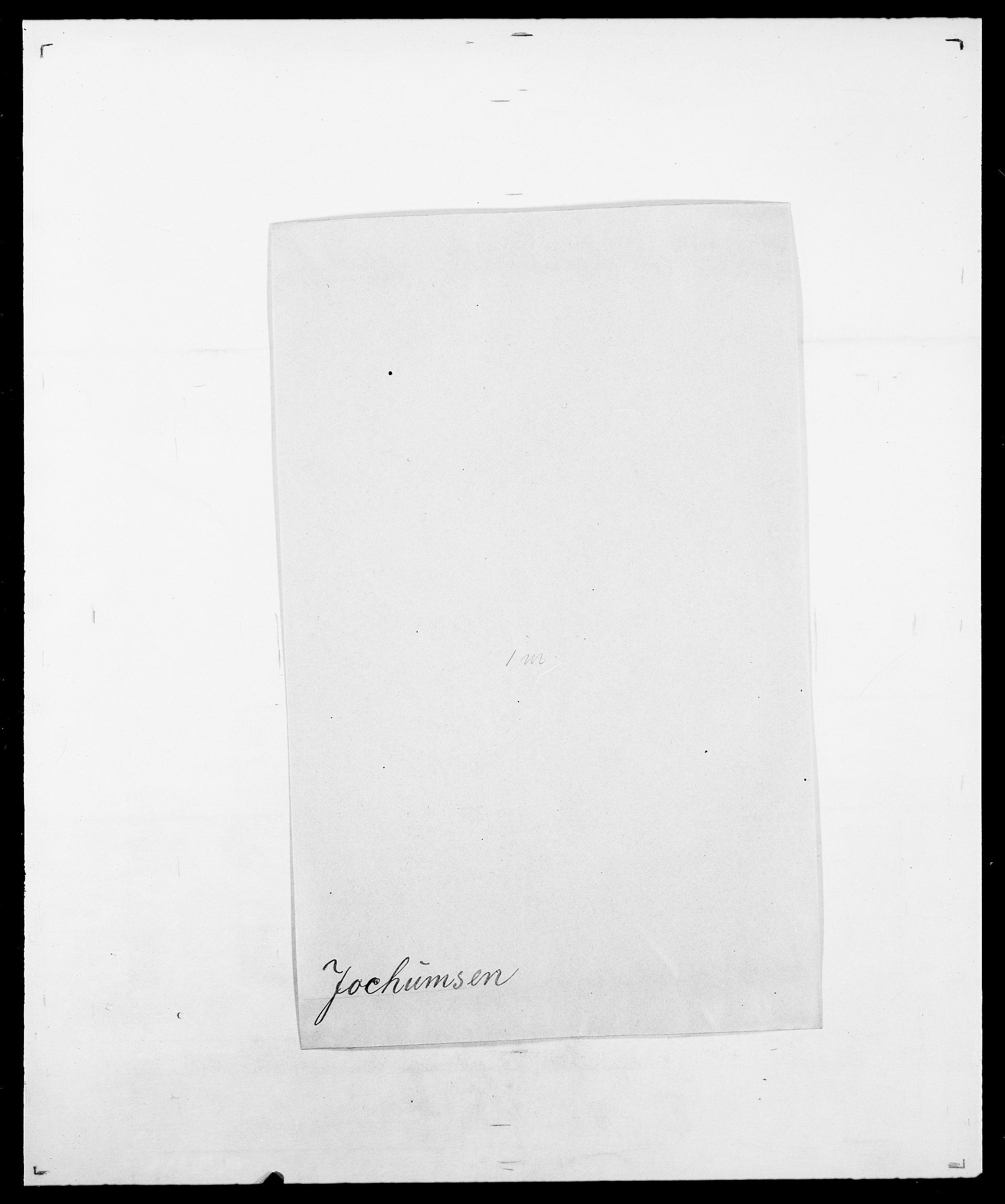 SAO, Delgobe, Charles Antoine - samling, D/Da/L0019: van der Hude - Joys, s. 808