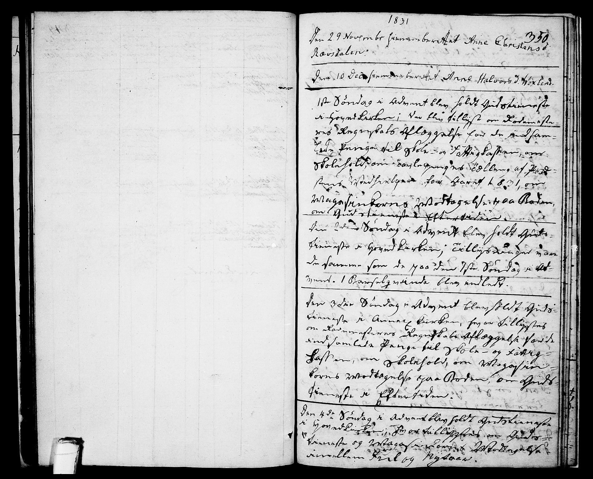 SAKO, Drangedal kirkebøker, F/Fa/L0006: Ministerialbok nr. 6, 1831-1837, s. 350
